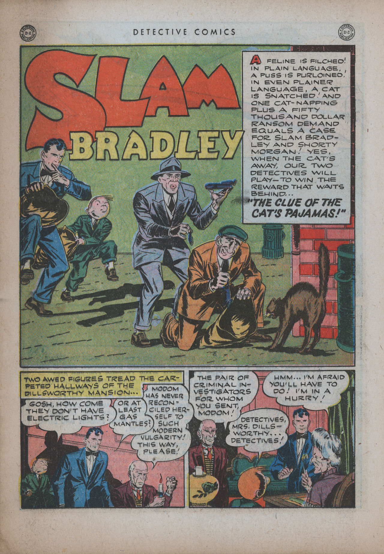 Read online Detective Comics (1937) comic -  Issue #94 - 22