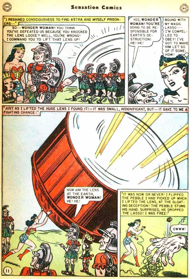 Read online Sensation (Mystery) Comics comic -  Issue #92 - 13