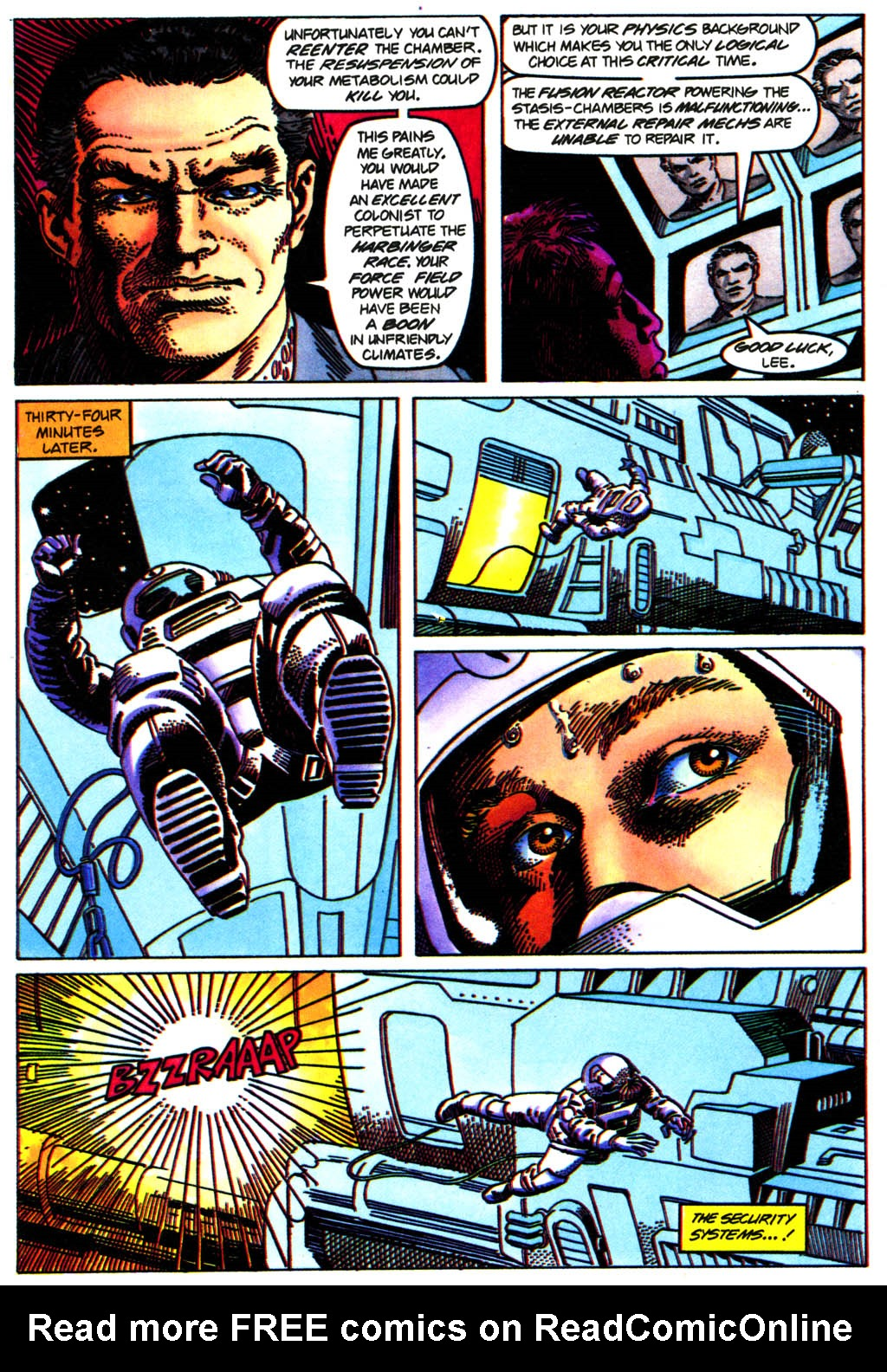 Read online Solar, Man of the Atom comic -  Issue #41 - 7