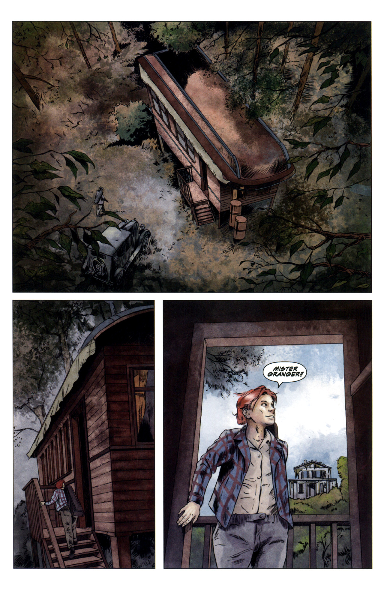 Read online Severed comic -  Issue #4 - 14