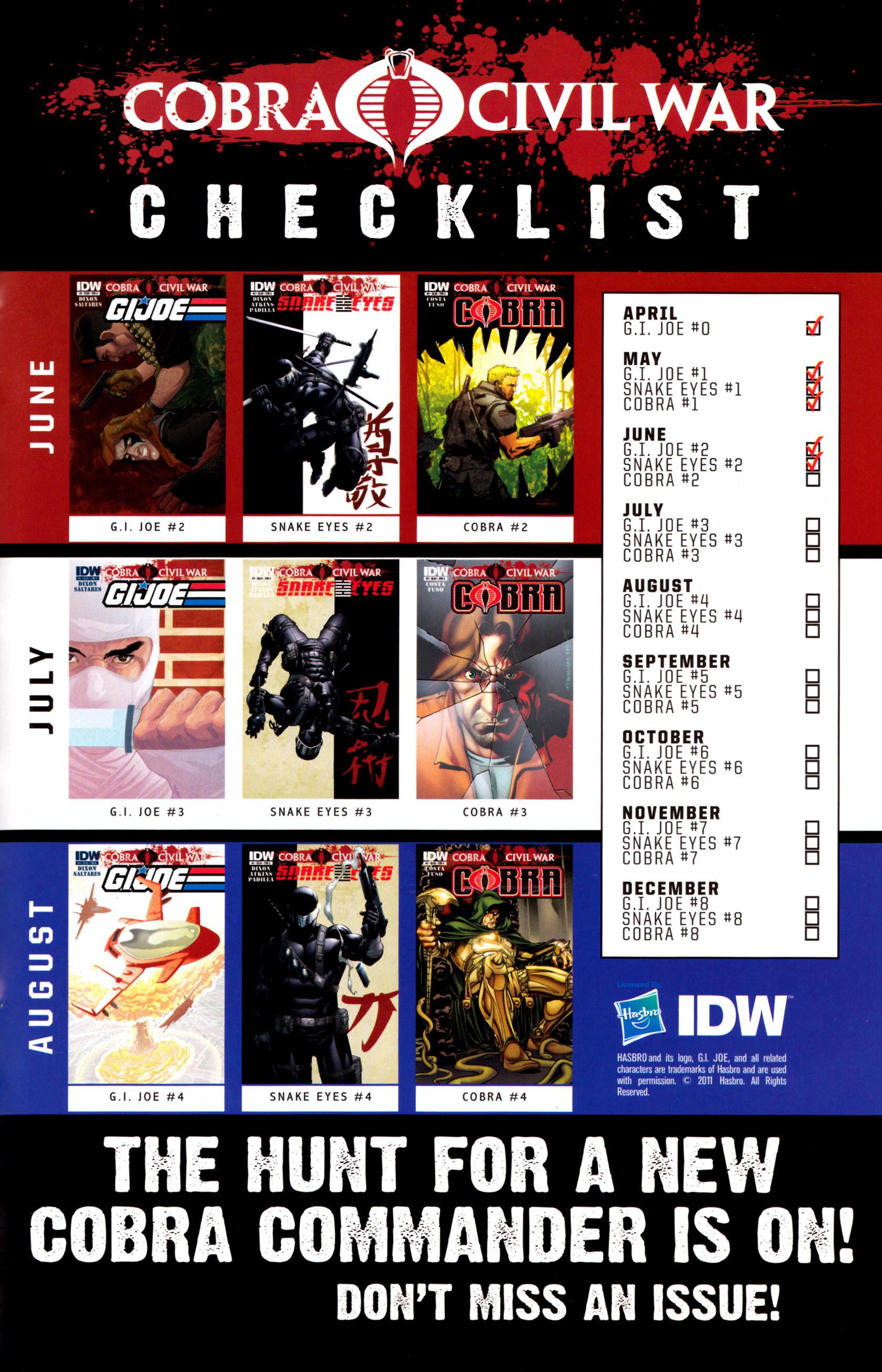Read online G.I. Joe: Snake Eyes comic -  Issue #2 - 26