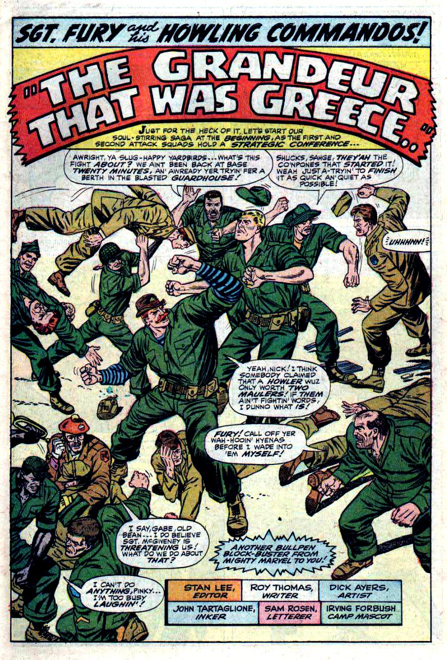 Read online Sgt. Fury comic -  Issue #33 - 3