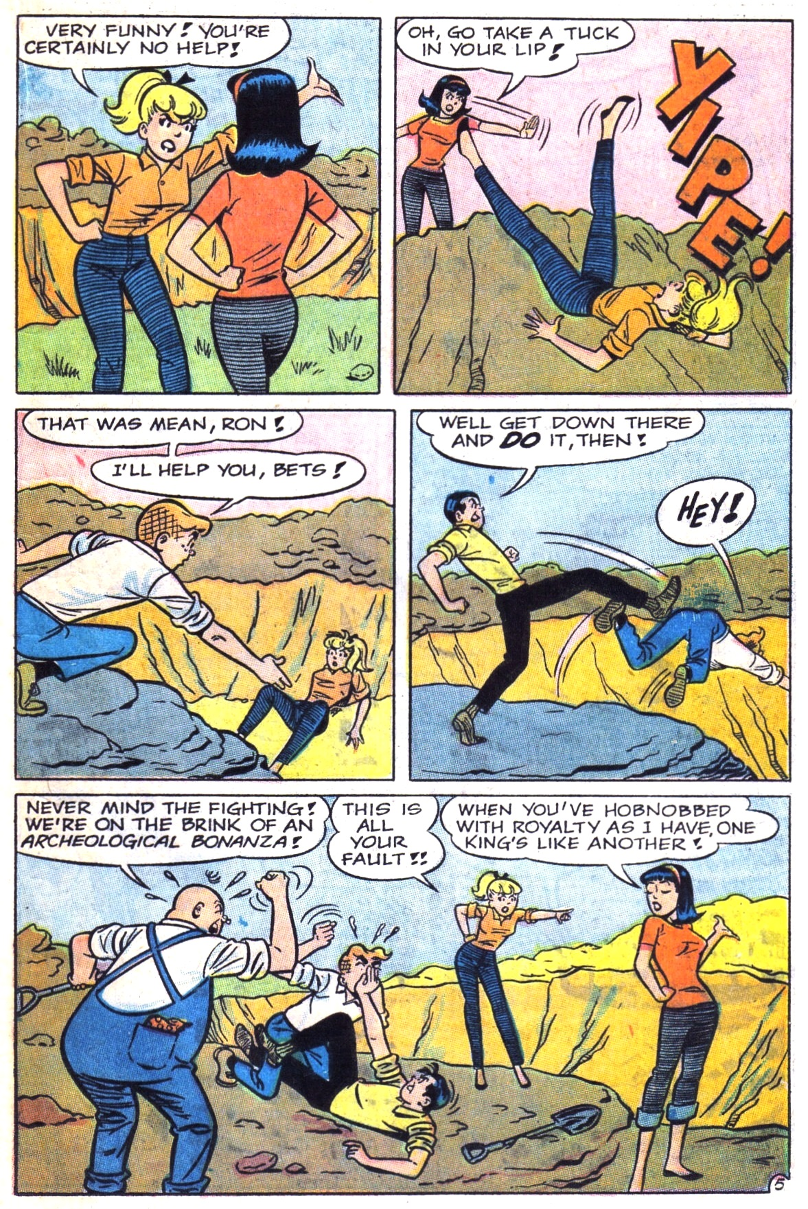 Read online Archie (1960) comic -  Issue #181 - 17