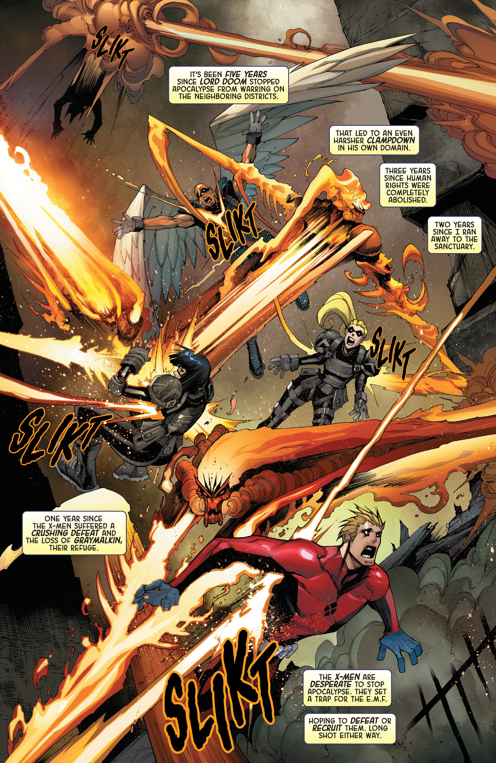 Read online Age of Apocalypse (2015) comic -  Issue #2 - 8