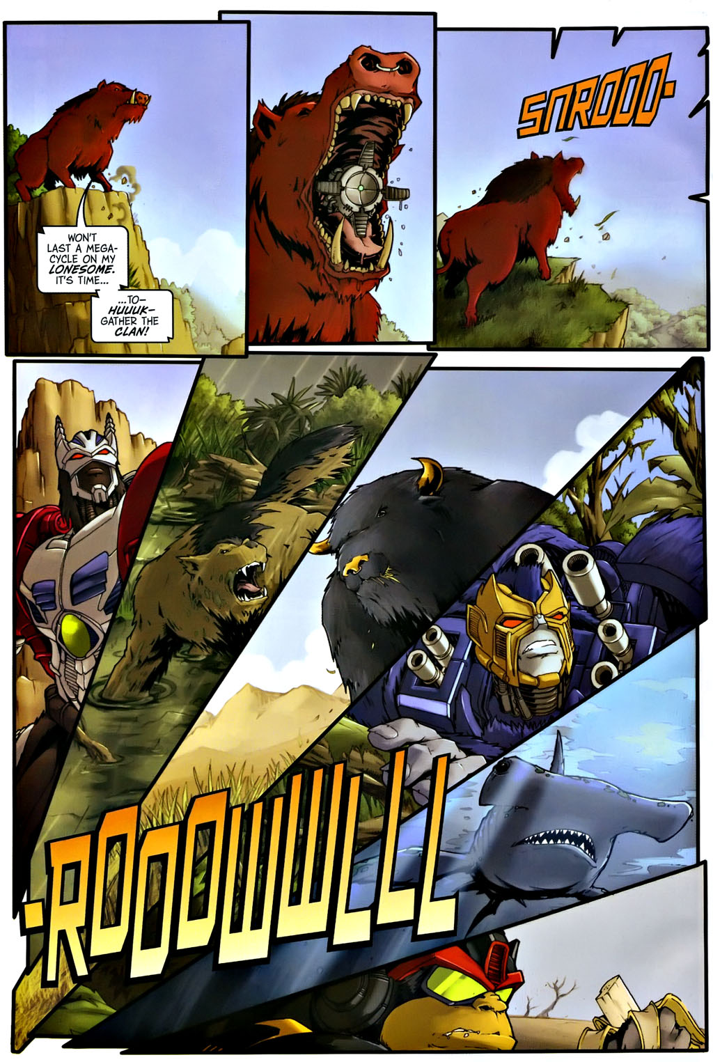 Read online Transformers, Beast Wars: The Gathering comic -  Issue #1 - 21