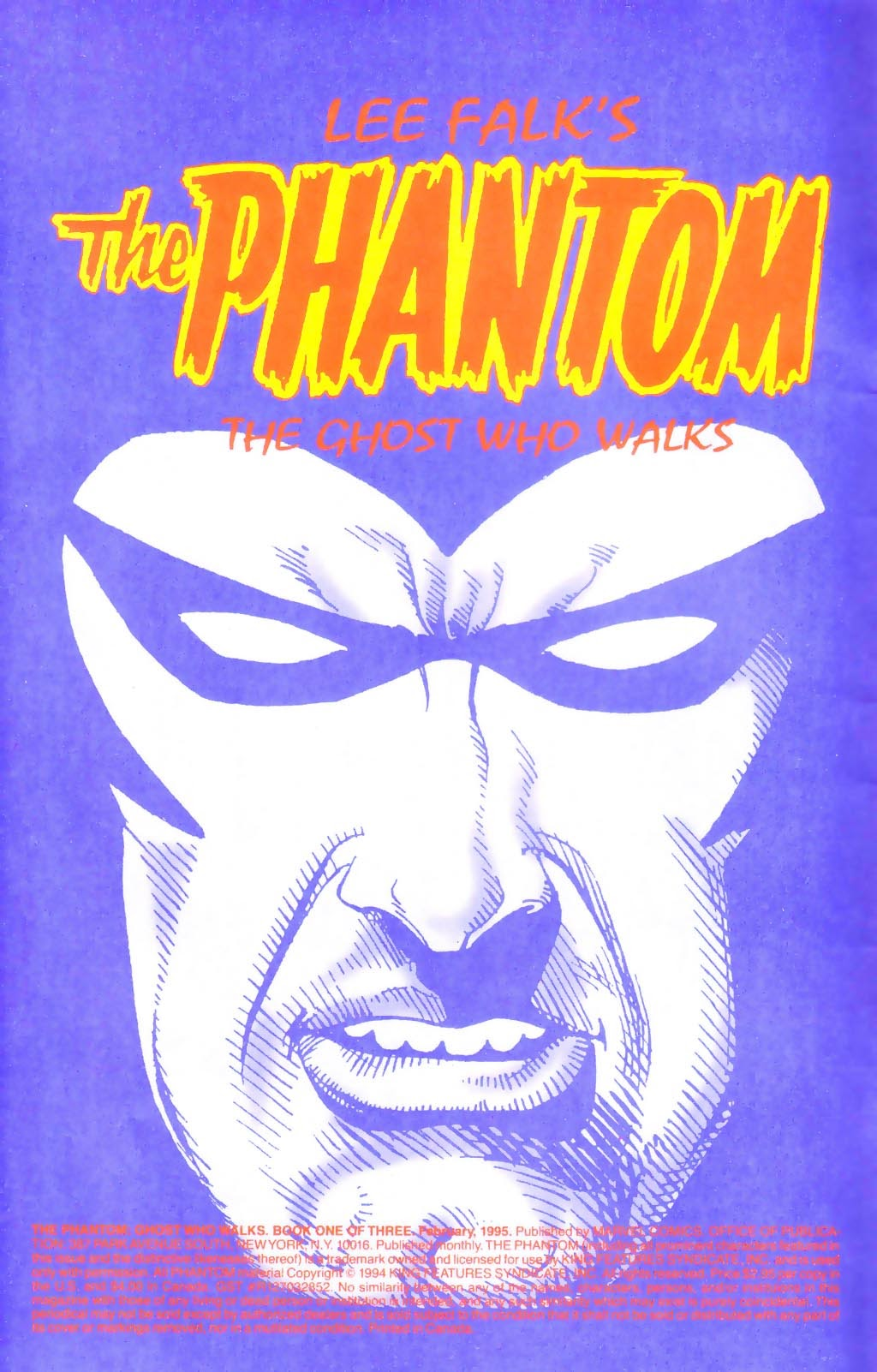 The Phantom: Ghost Who Walks 1 Page 2