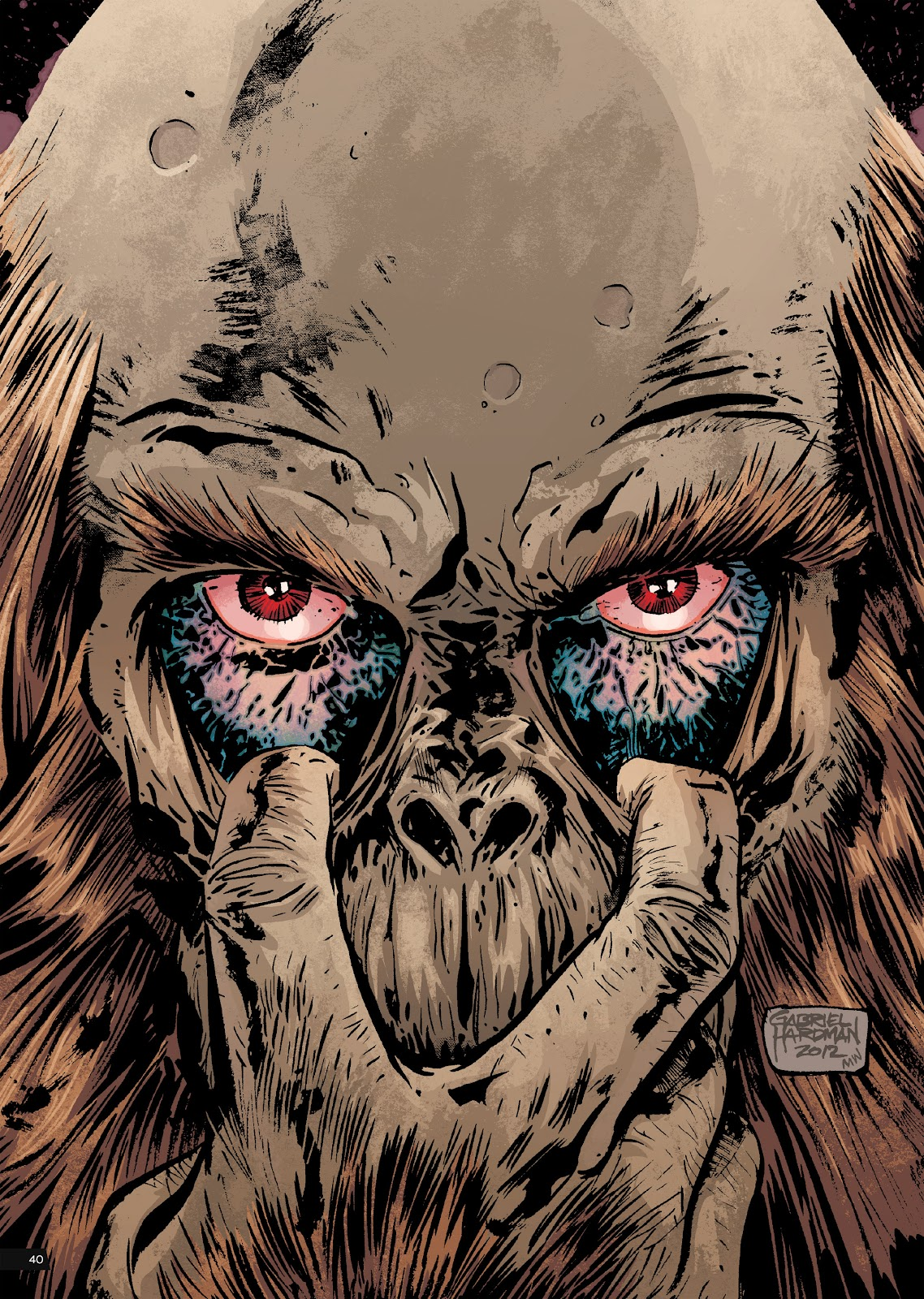Read online Planet of the Apes Artist Tribute comic -  Issue # TPB - 40