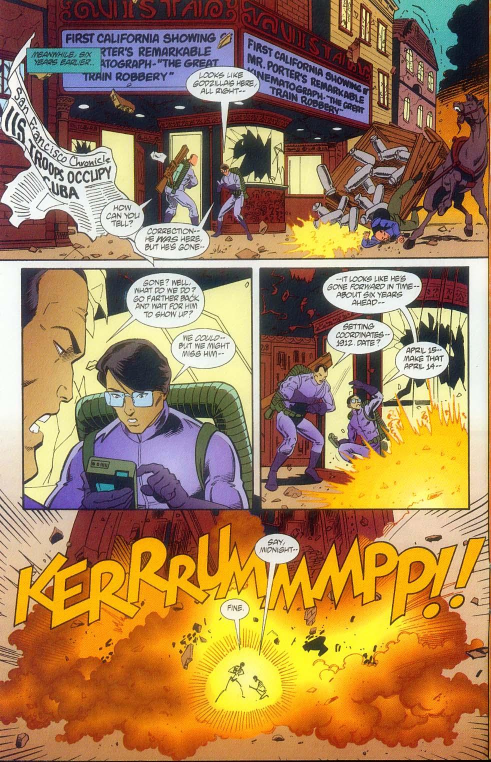Godzilla (1995) Issue #11 #12 - English 5