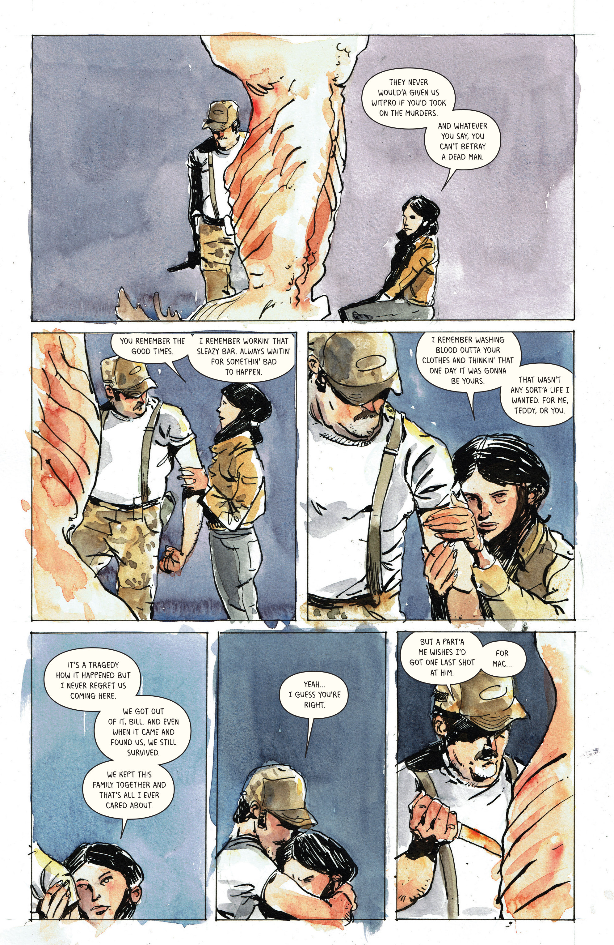Read online Snow Blind comic -  Issue #3 - 23