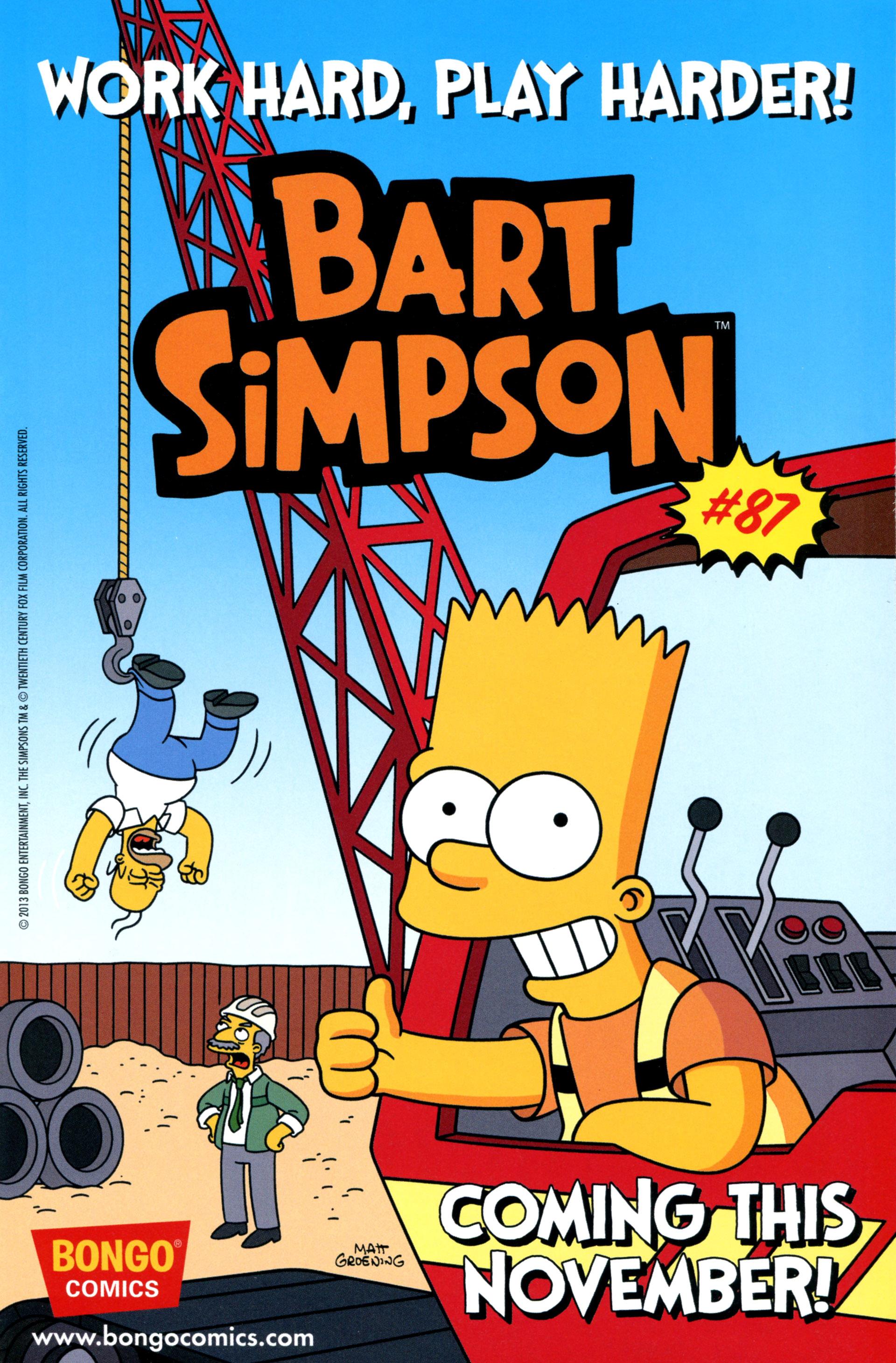 Read online Simpsons Comics comic -  Issue #206 - 25