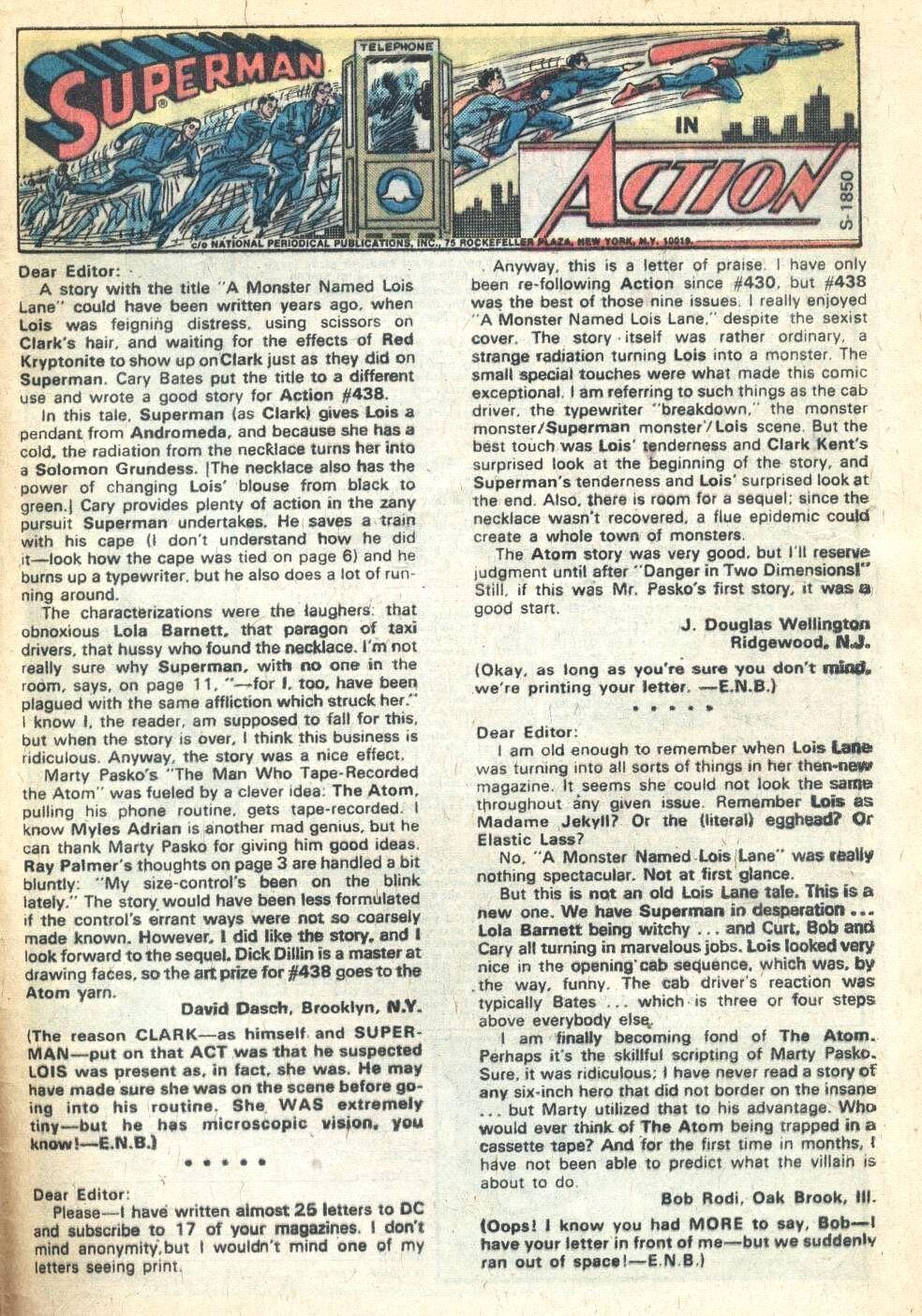 Action Comics (1938) 442 Page 33