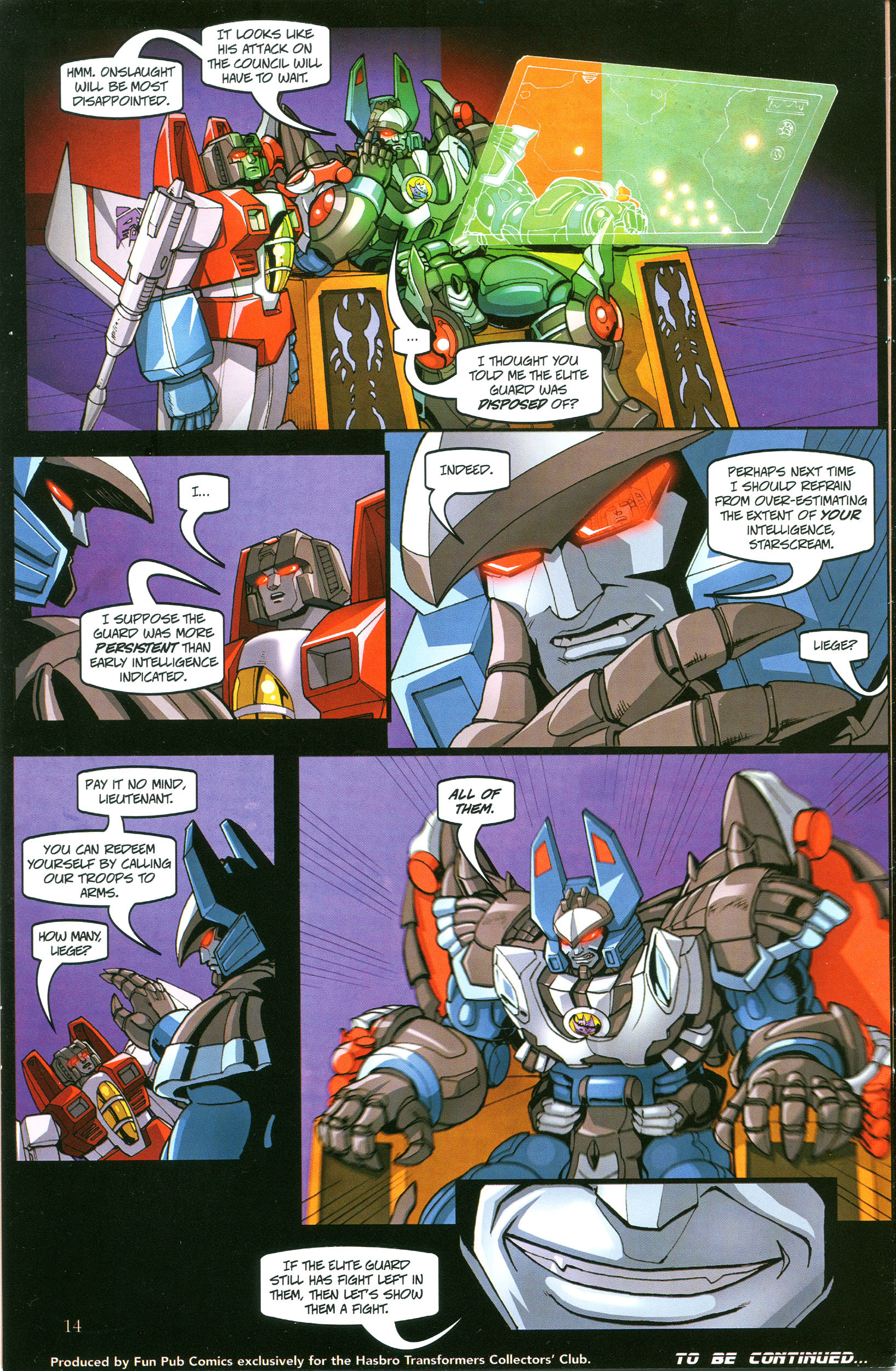 Read online Transformers: Collectors' Club comic -  Issue #38 - 14