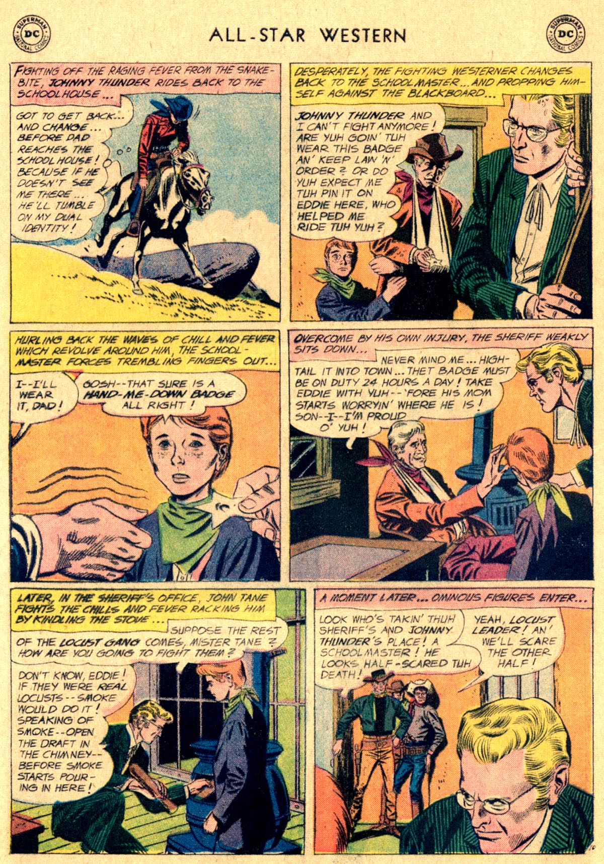 Read online All-Star Western (1951) comic -  Issue #112 - 12