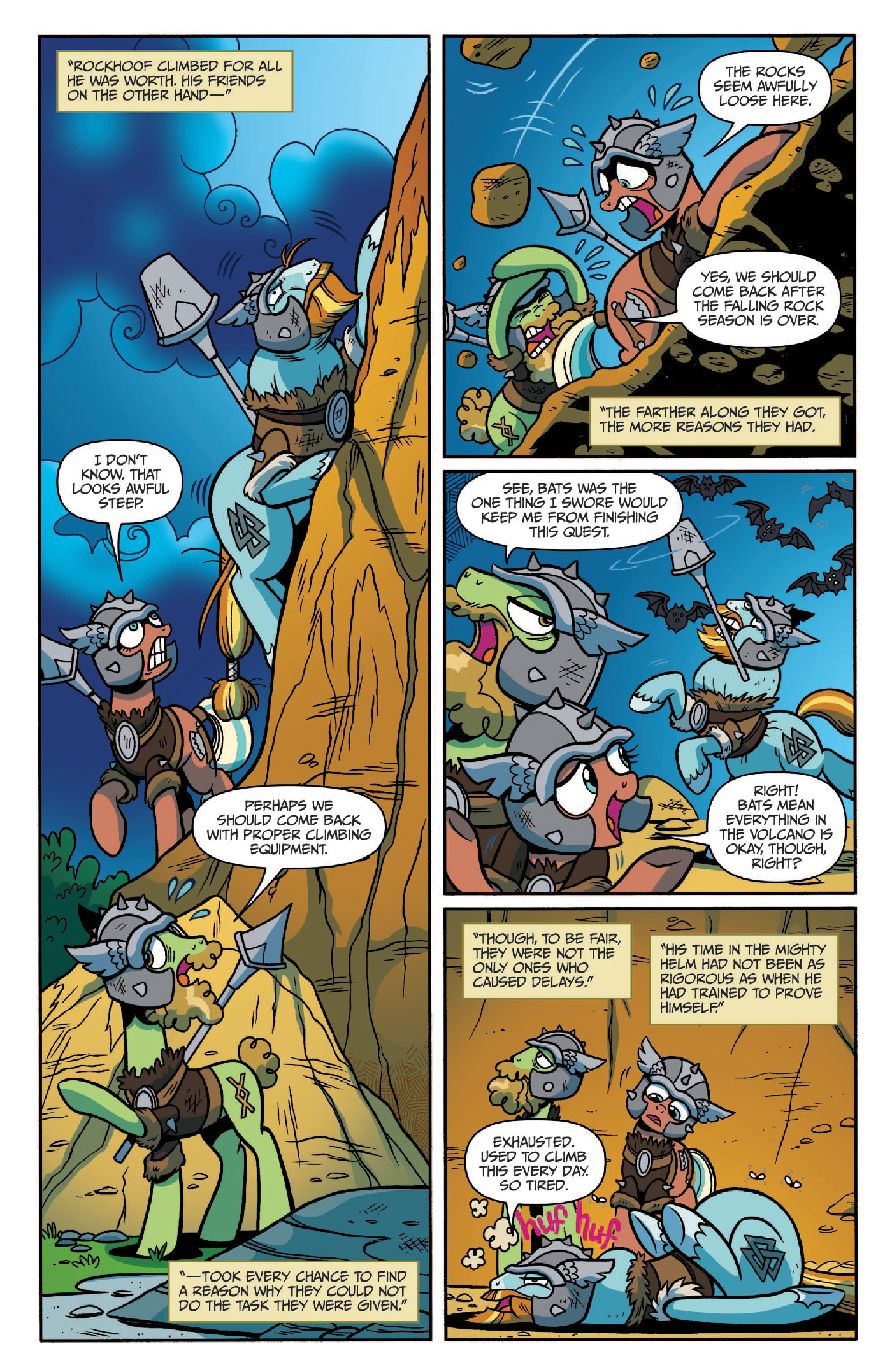 Read online My Little Pony: Legends of Magic comic -  Issue #2 - 14
