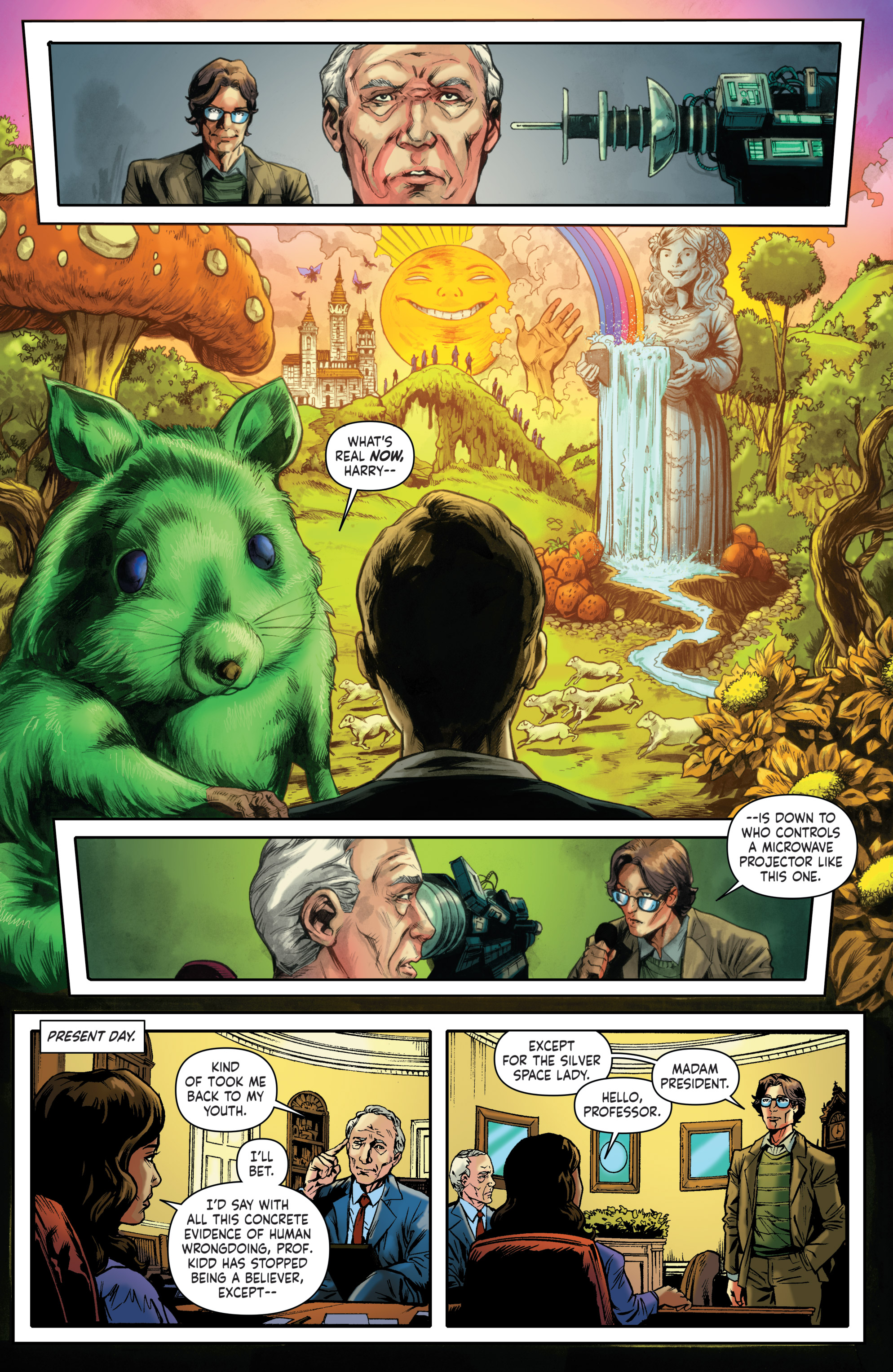 Read online Saucer State comic -  Issue #1 - 11