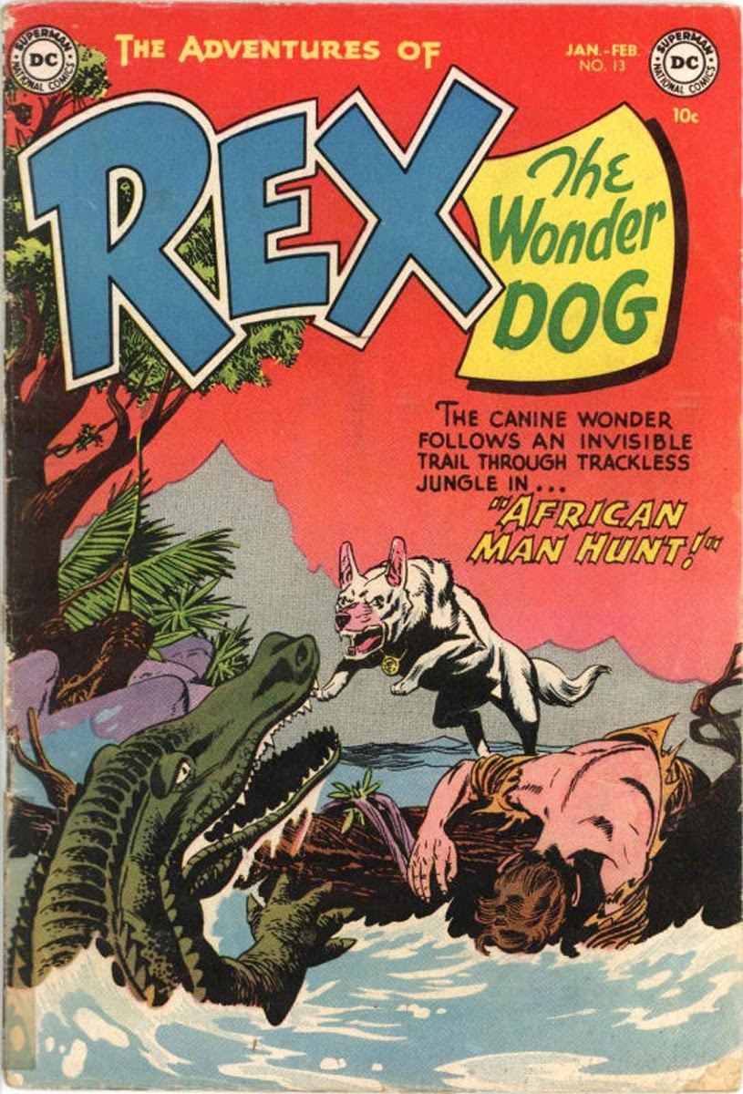 The Adventures of Rex the Wonder Dog issue 13 - Page 1