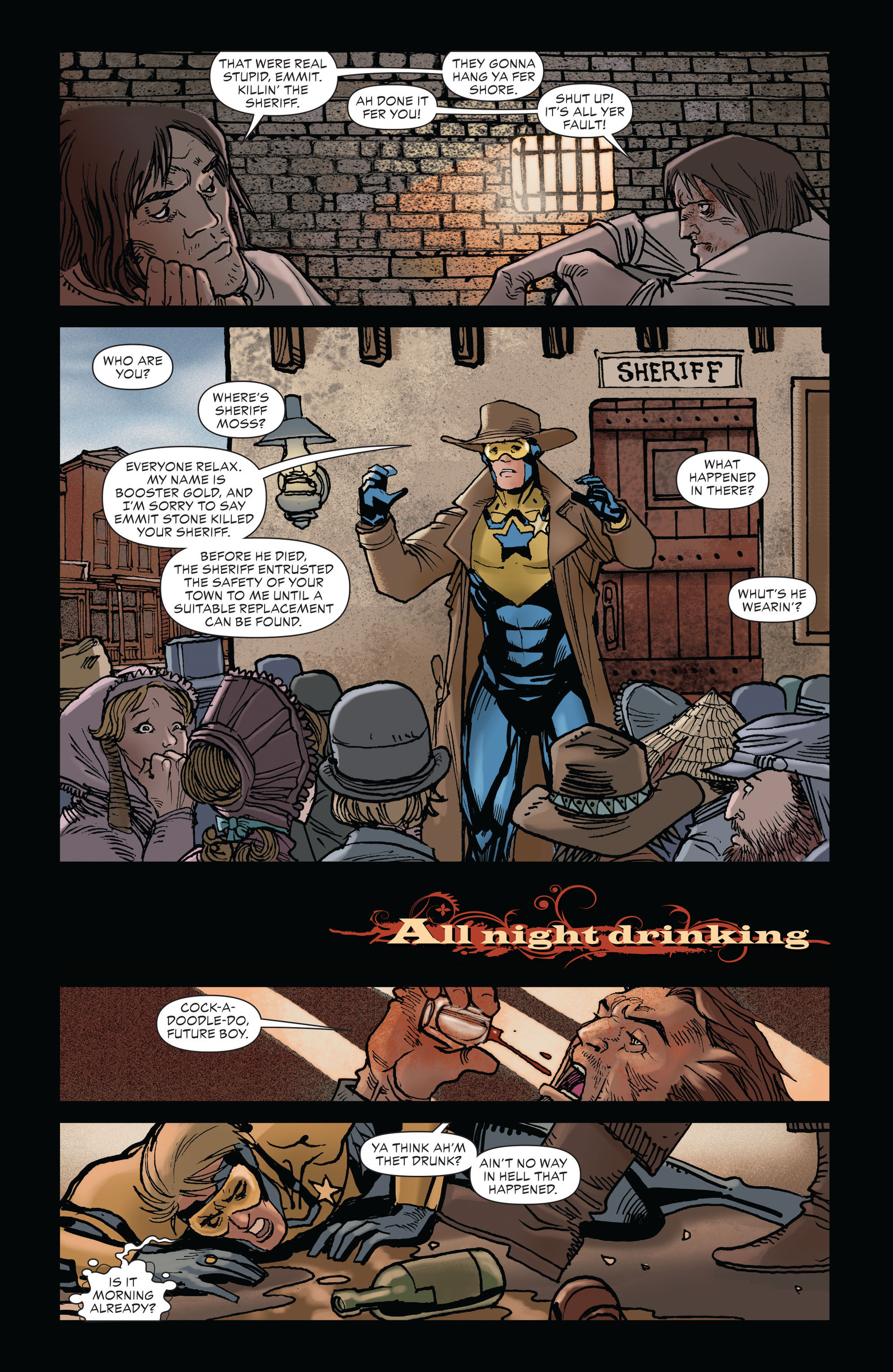 Read online All-Star Western (2011) comic -  Issue #19 - 21