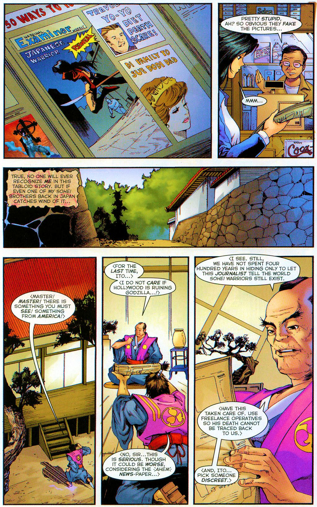 Read online Shi: The Series comic -  Issue #7 - 9