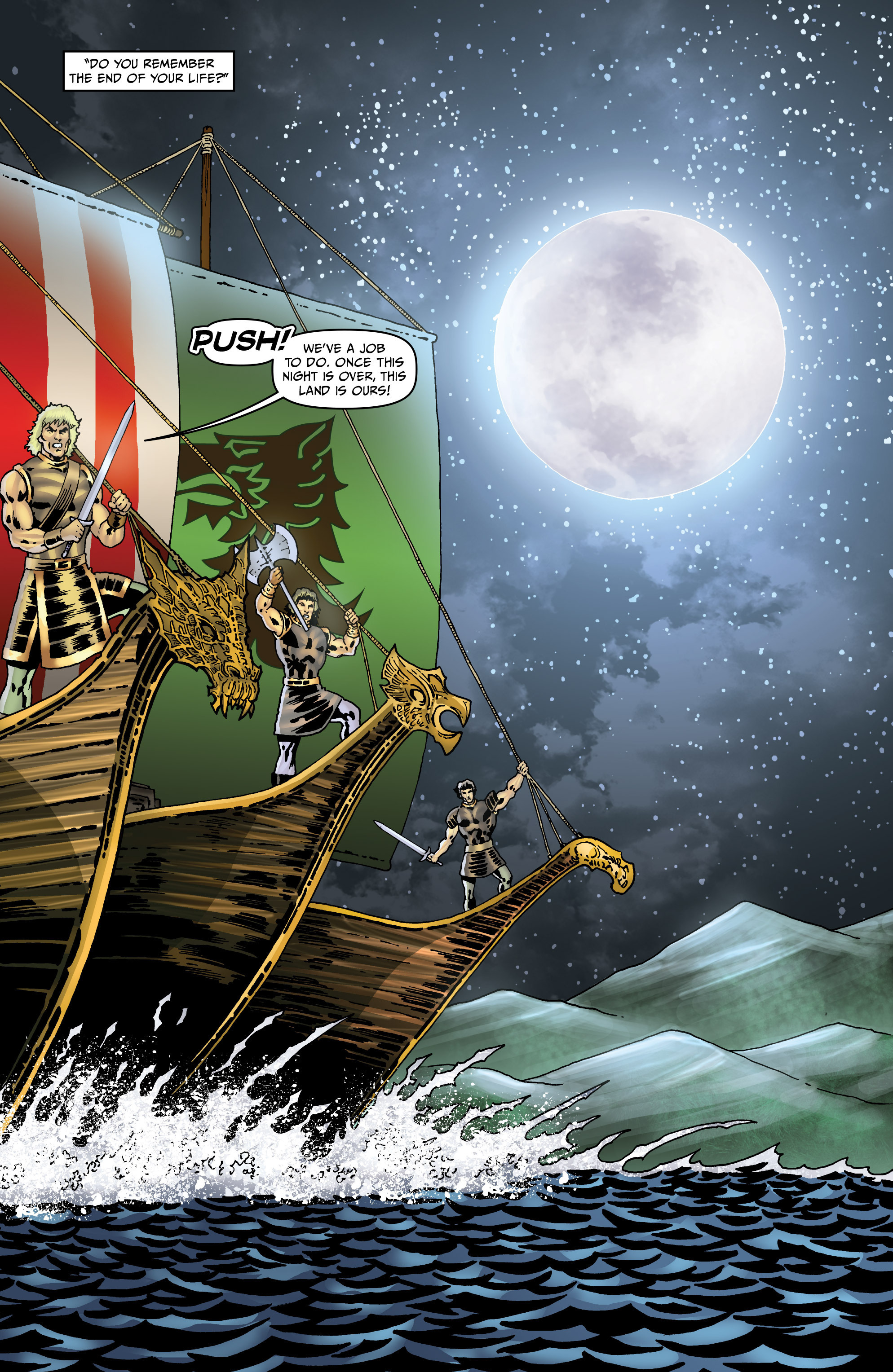 Read online Belladonna: Origins comic -  Issue #5 - 10