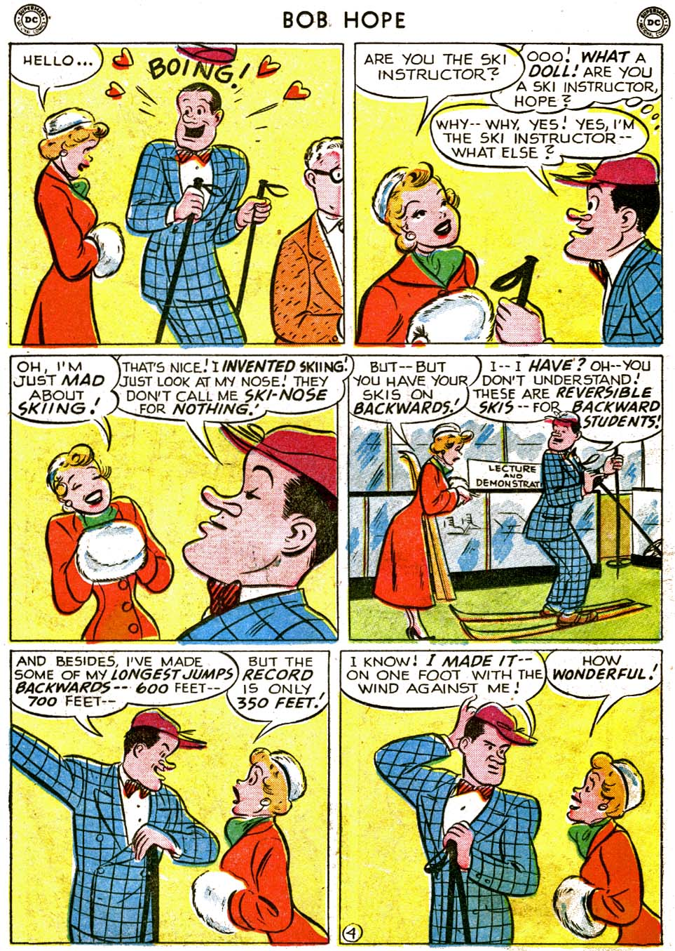 The Adventures of Bob Hope issue 1 - Page 20