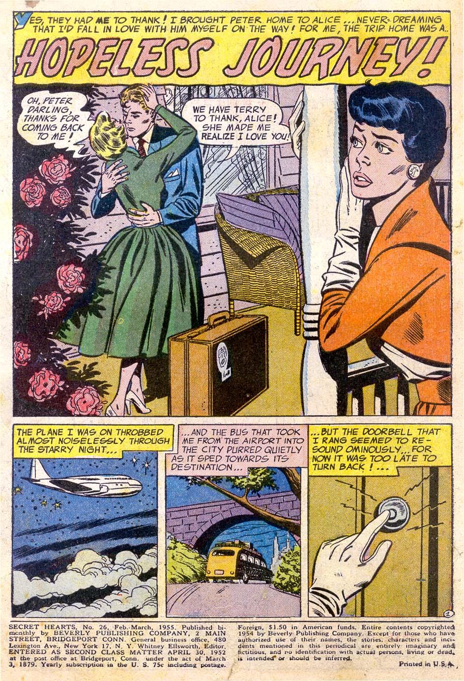 Read online Secret Hearts comic -  Issue #26 - 3