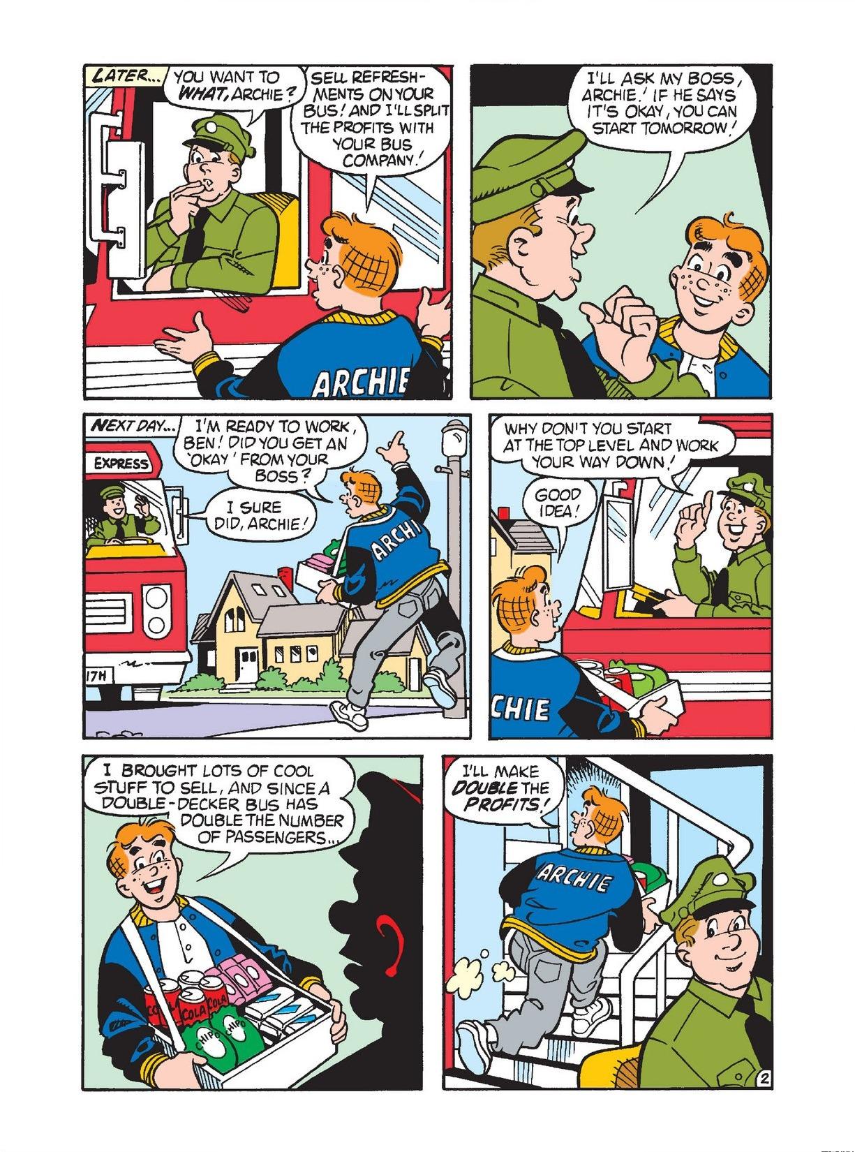 Read online Archie 1000 Page Comics Bonanza comic -  Issue #3 (Part 1) - 9
