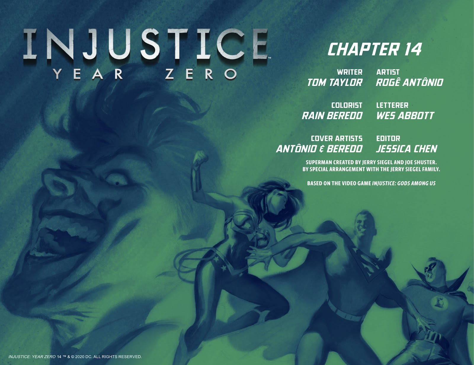 Injustice: Year Zero issue 14 - Page 3