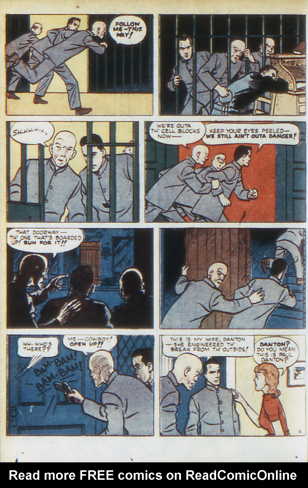 Read online Adventure Comics (1938) comic -  Issue #64 - 45
