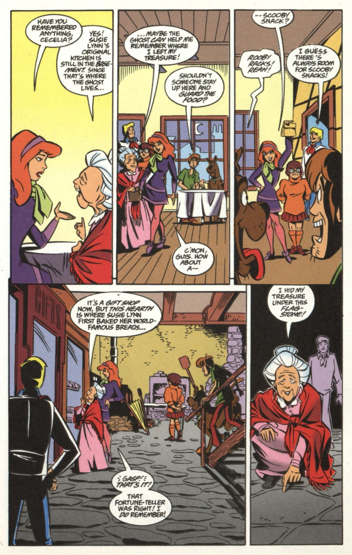 Read online Scooby-Doo (1997) comic -  Issue #19 - 18