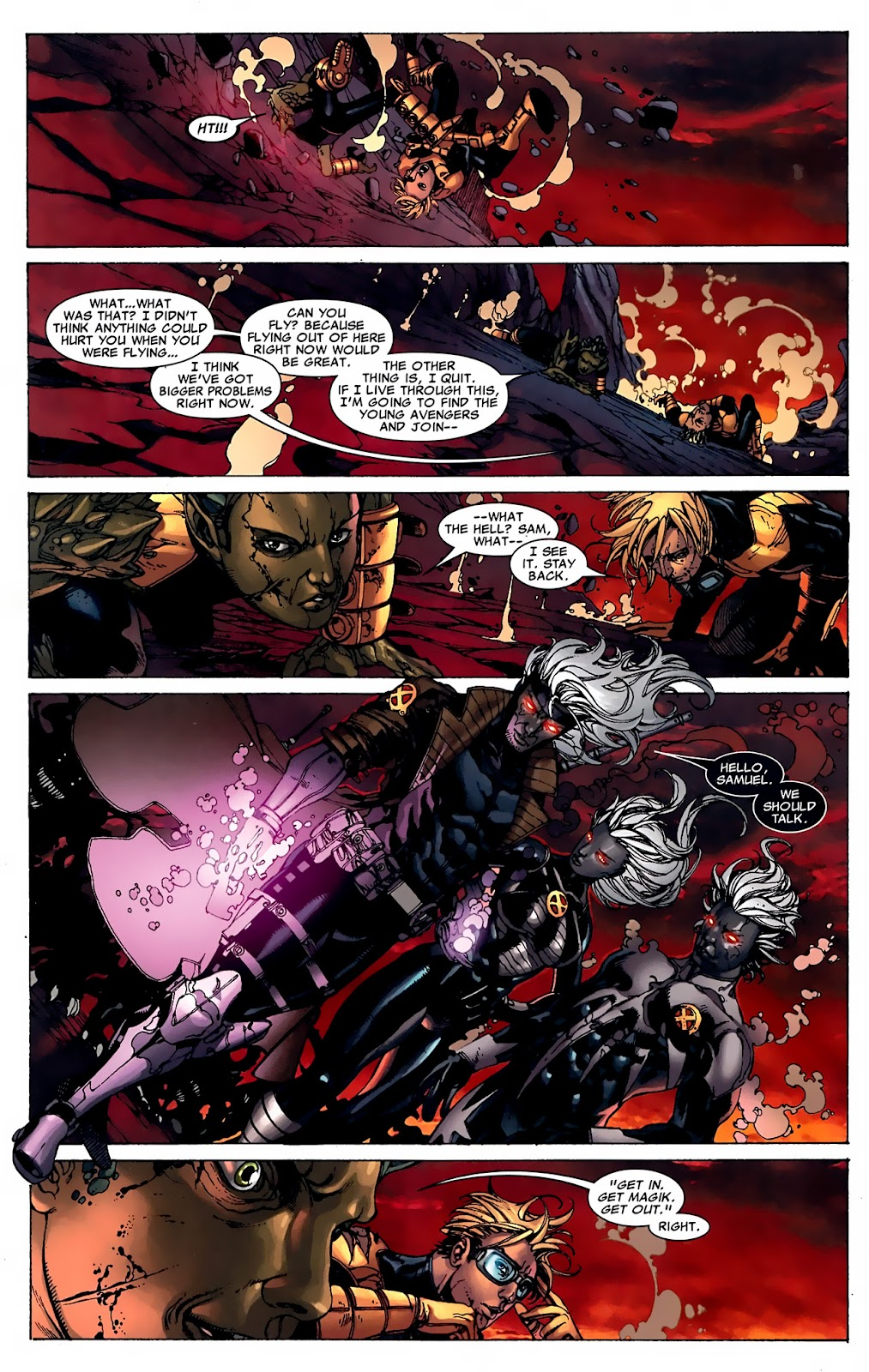 Read online X-Men: Second Coming Revelations comic -  Issue # TPB (Part 2) - 23