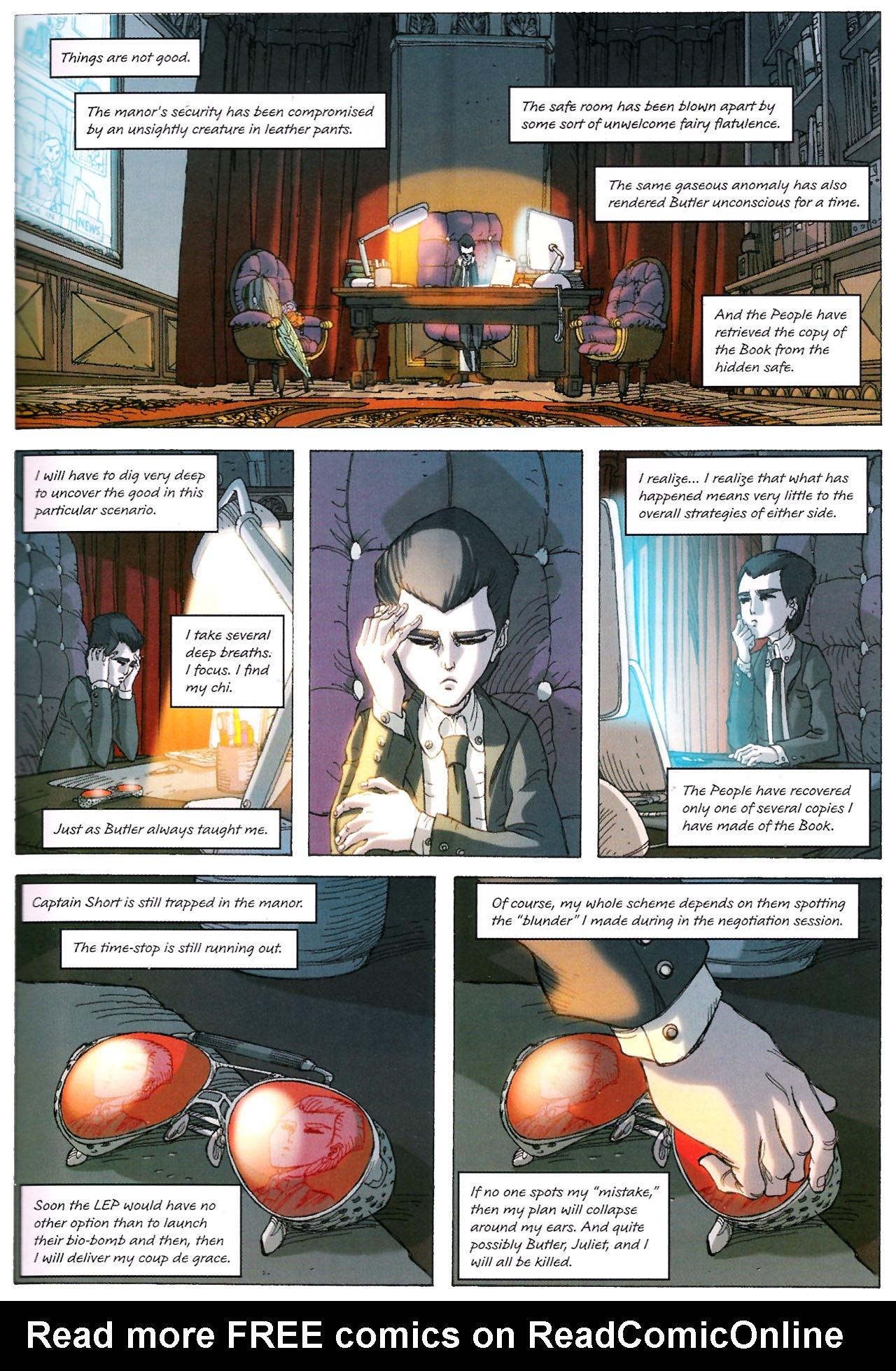 Read online Artemis Fowl: The Graphic Novel comic -  Issue #Artemis Fowl: The Graphic Novel Full - 82