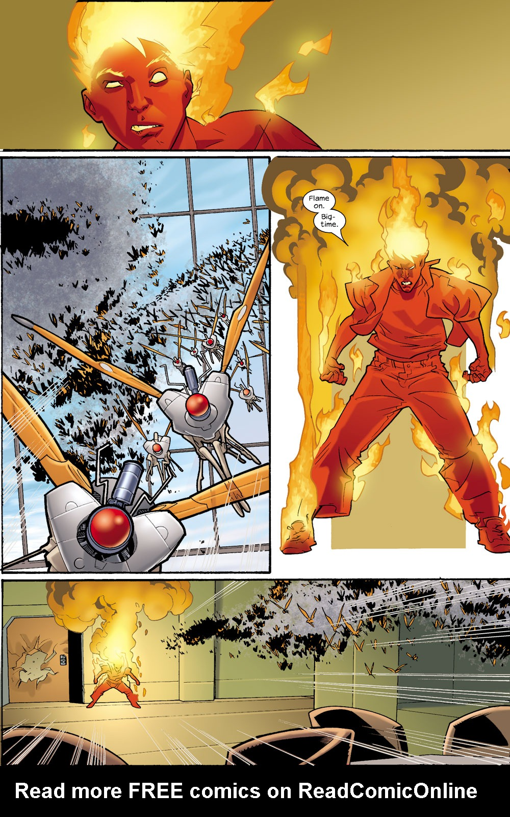 Read online Ultimate Fantastic Four (2004) comic -  Issue #9 - 15
