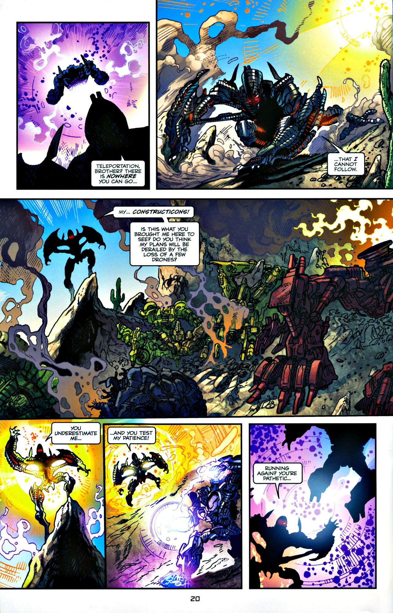 Read online Transformers: Tales of The Fallen comic -  Issue #4 - 21