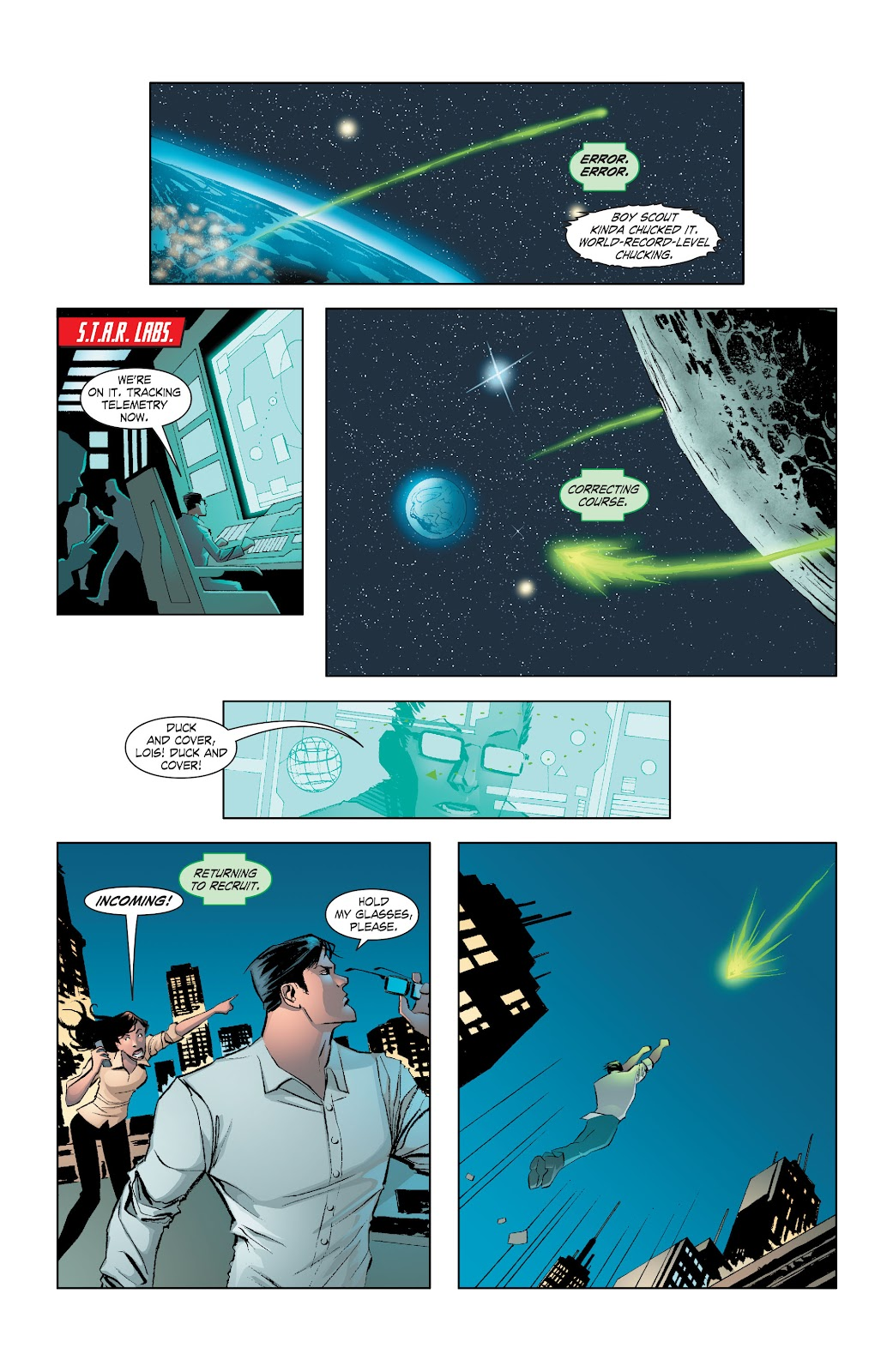 Read online Smallville Season 11 [II] comic -  Issue # TPB 7 - 21