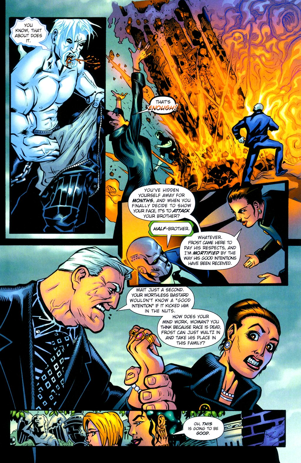 Read online Noble Causes (2002) comic -  Issue #2 - 14