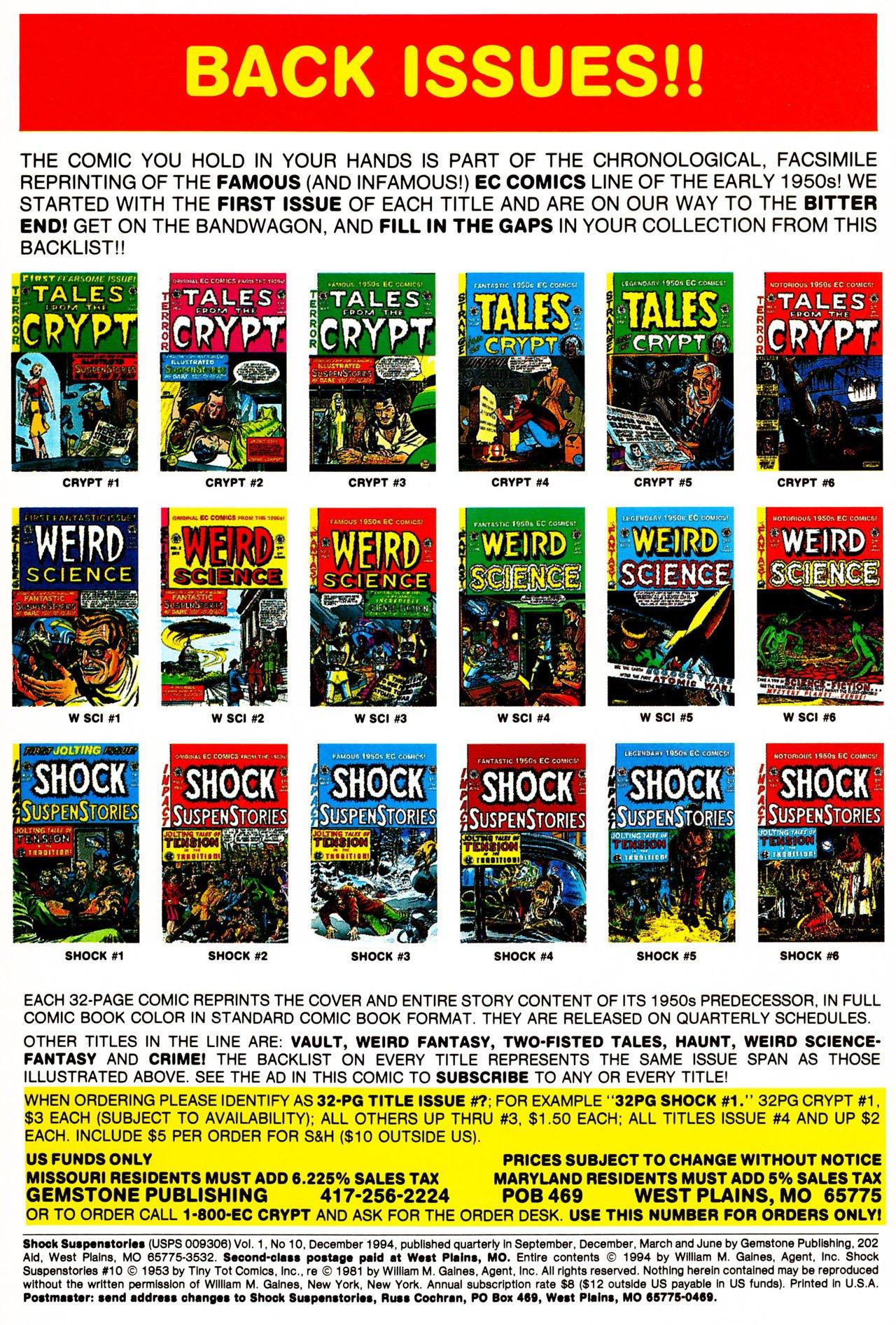 Read online Shock SuspenStories comic -  Issue #10 - 2