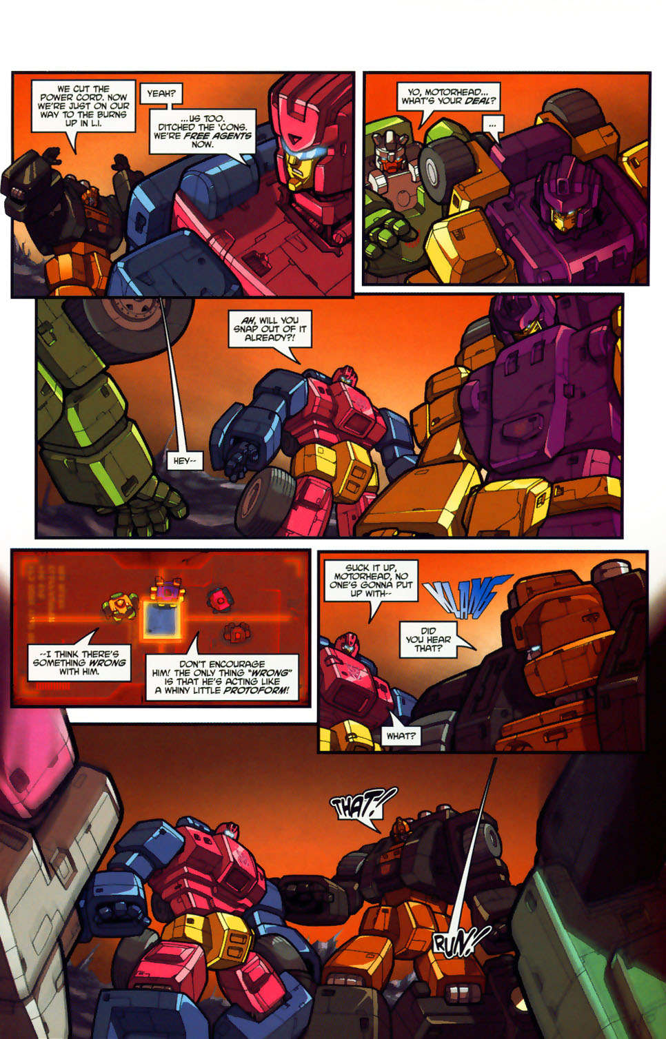 Read online Transformers: Micromasters comic -  Issue #1 - 23