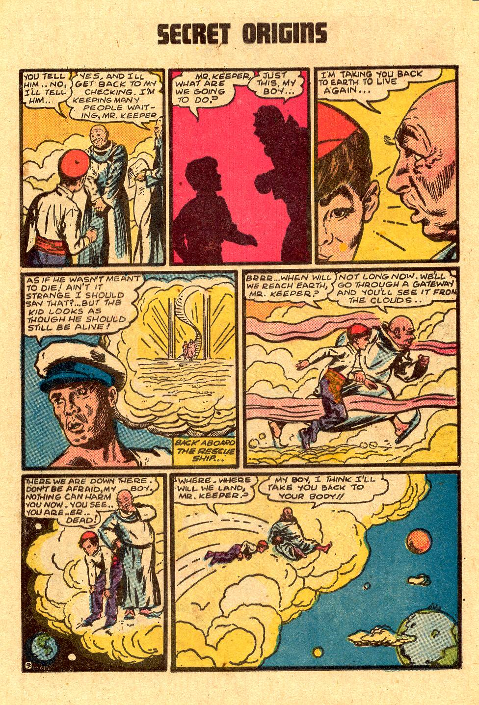Read online Secret Origins (1973) comic -  Issue #4 - 24