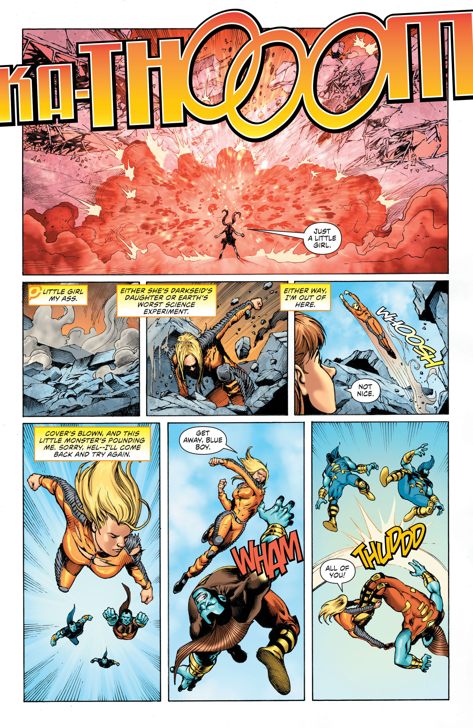 Read online Worlds' Finest: Futures End comic -  Issue # Full - 16