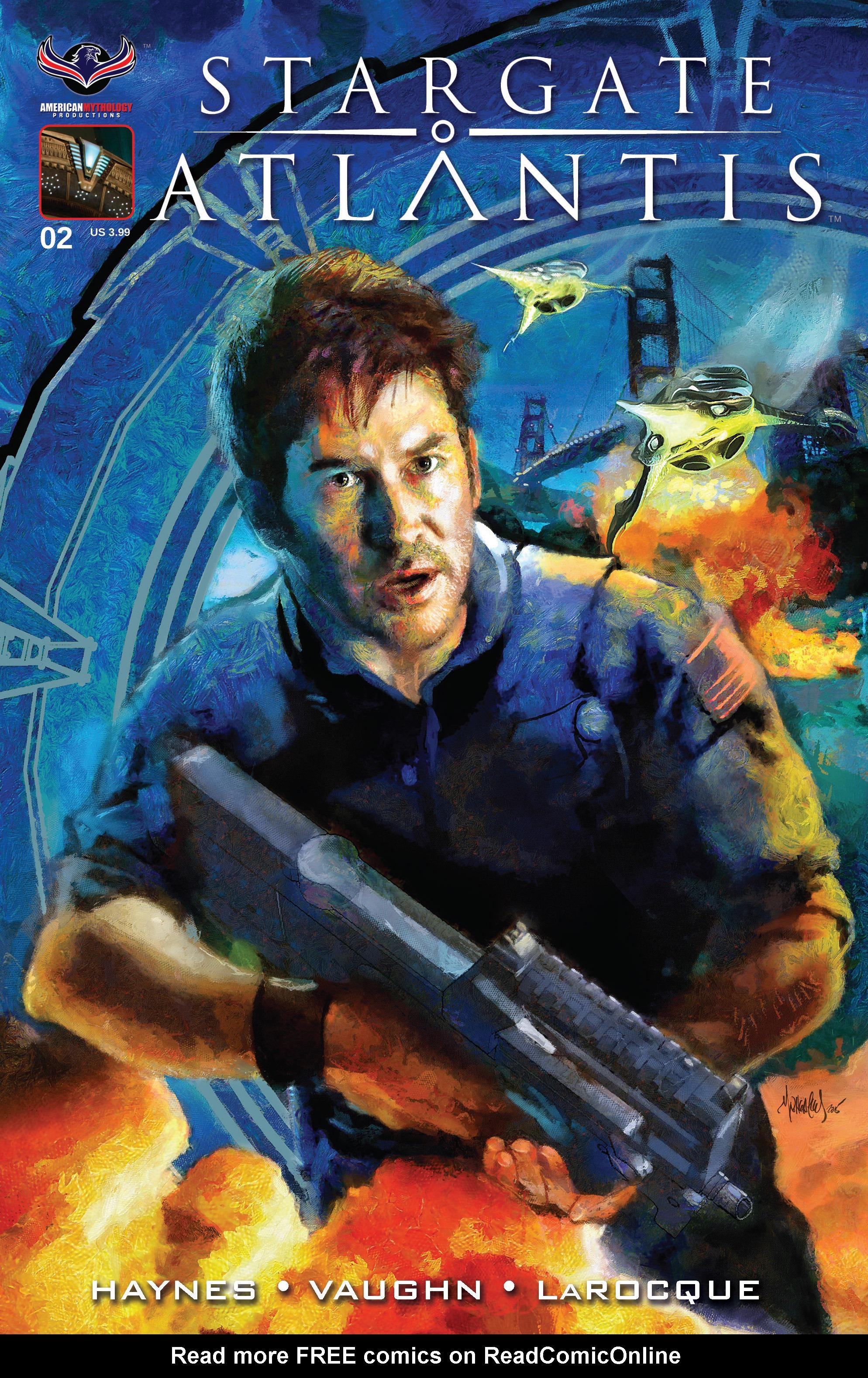 Stargate Atlantis Back to Pegasus 2 Page 1