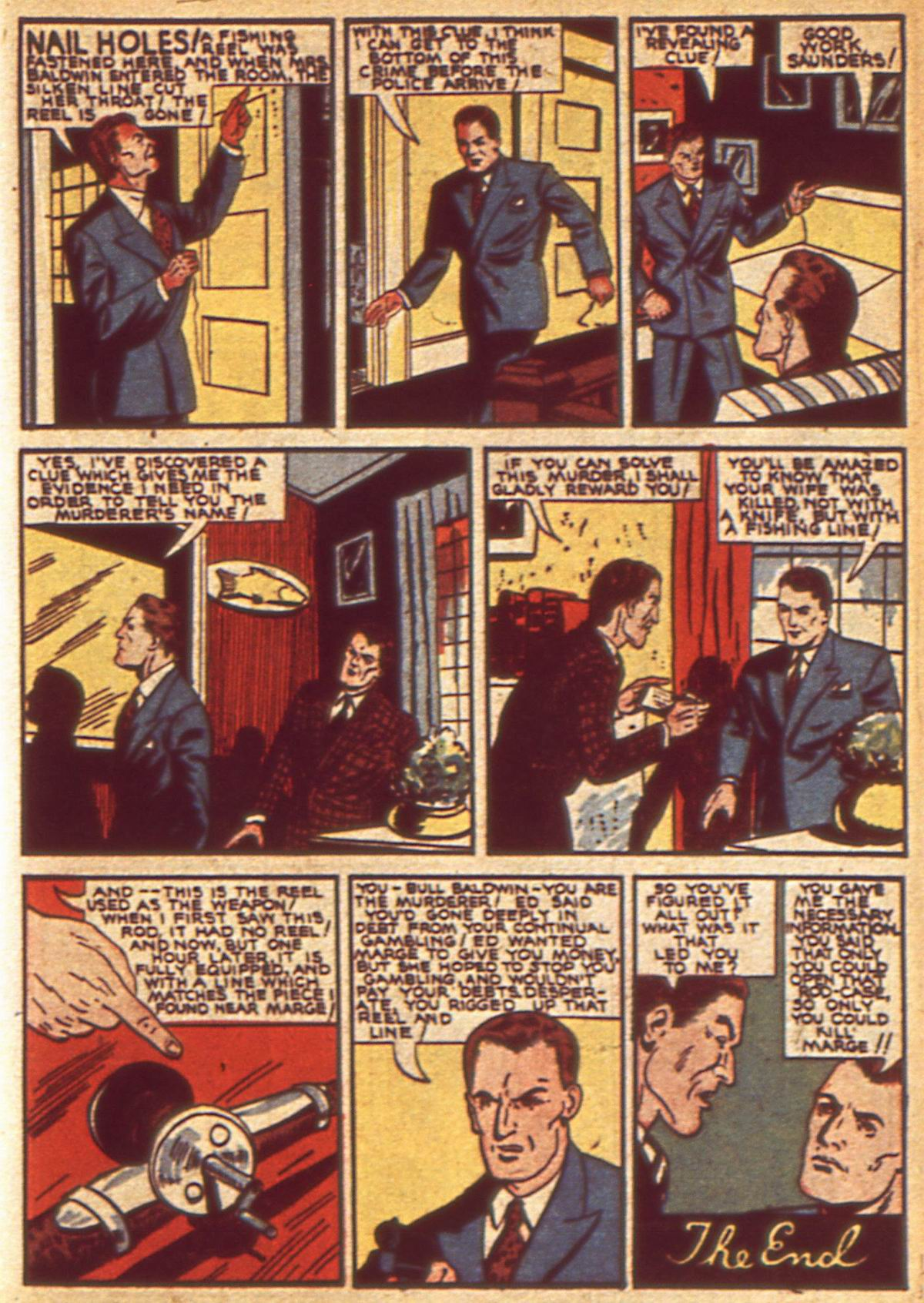Read online Detective Comics (1937) comic -  Issue #49 - 43