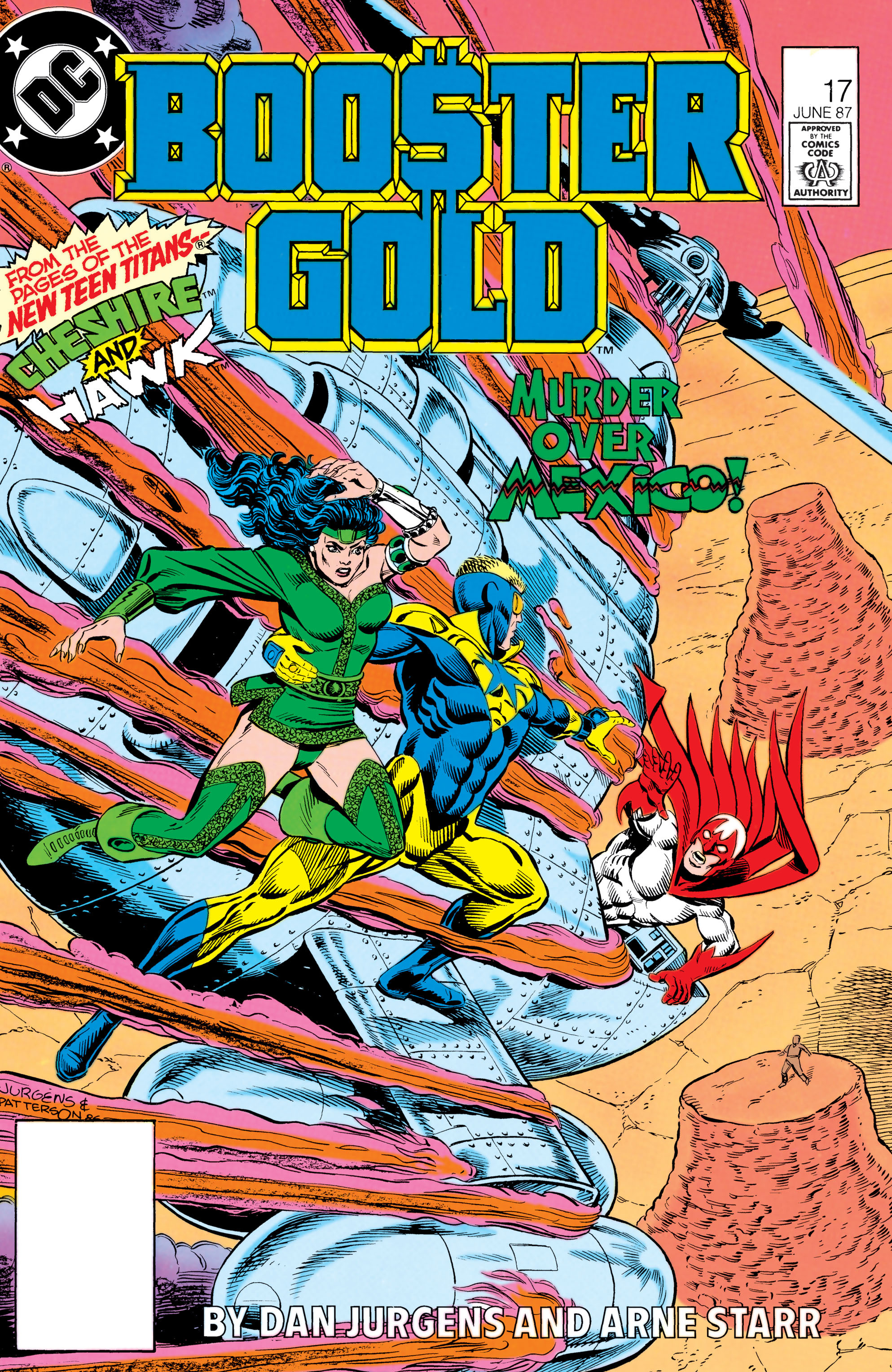 Booster Gold 1986 Issue 17