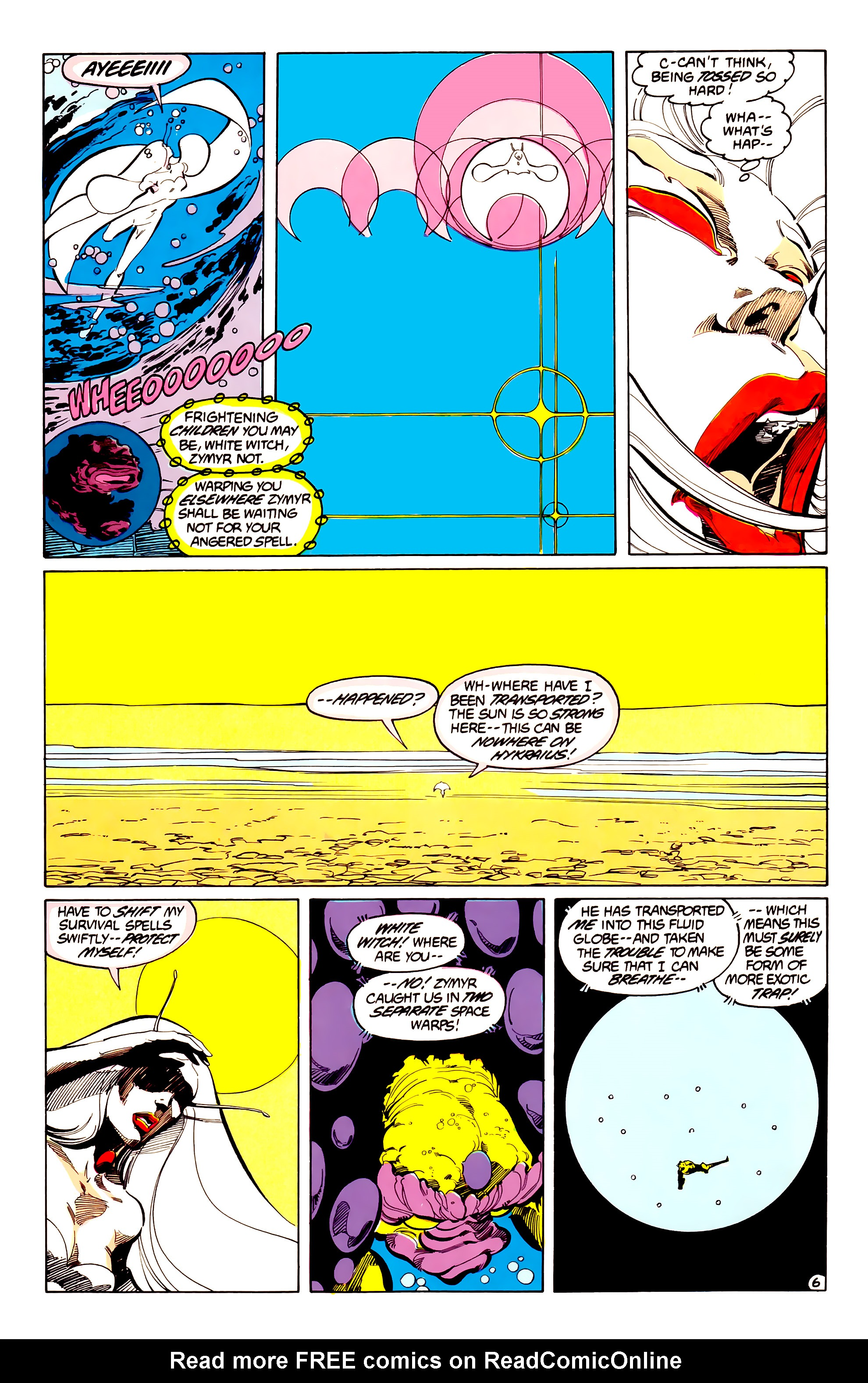 Legion of Super-Heroes (1984) 33 Page 6