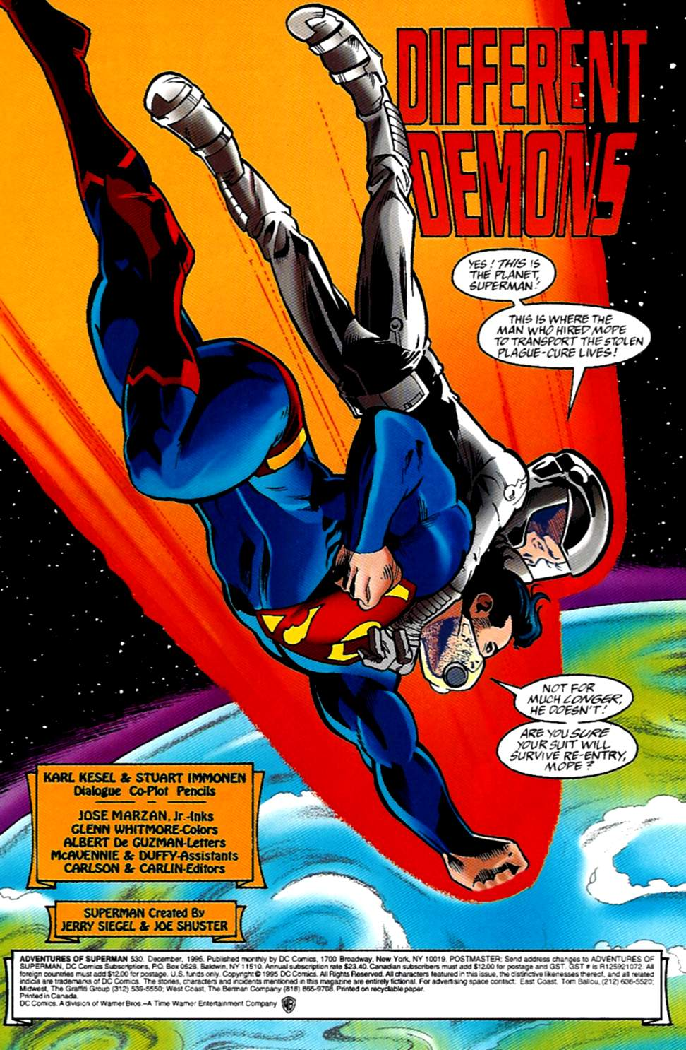Read online Adventures of Superman (1987) comic -  Issue #530 - 2