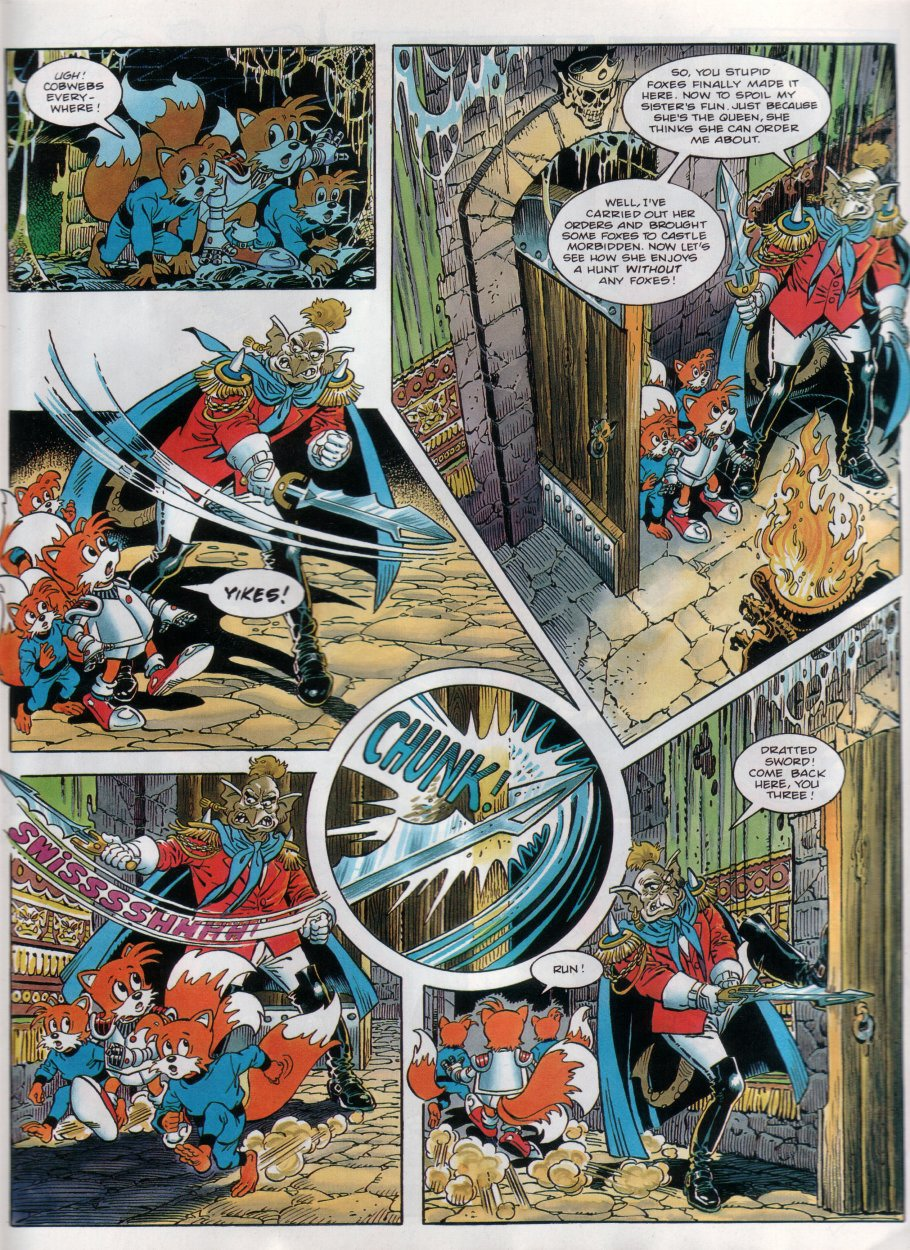 Read online Sonic the Comic comic -  Issue #31 - 20