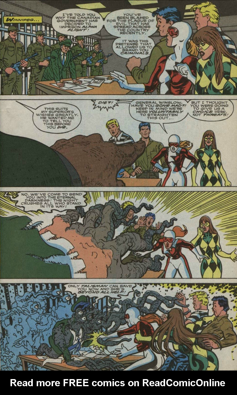 Read online Alpha Flight (1983) comic -  Issue #83 - 2