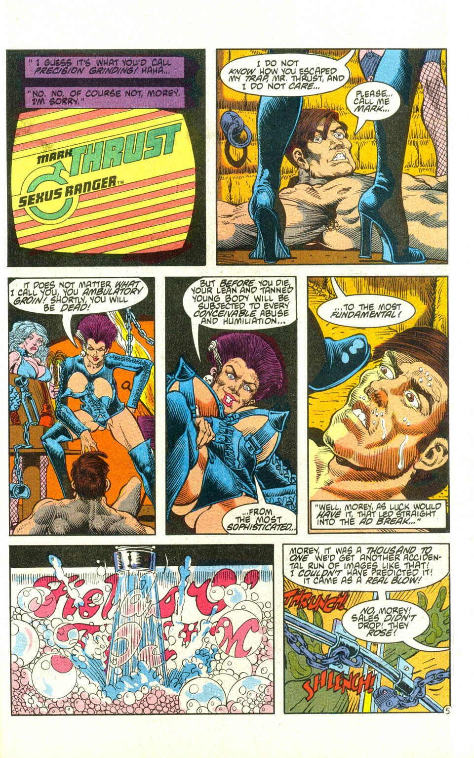 Read online American Flagg! comic -  Issue #21 - 28