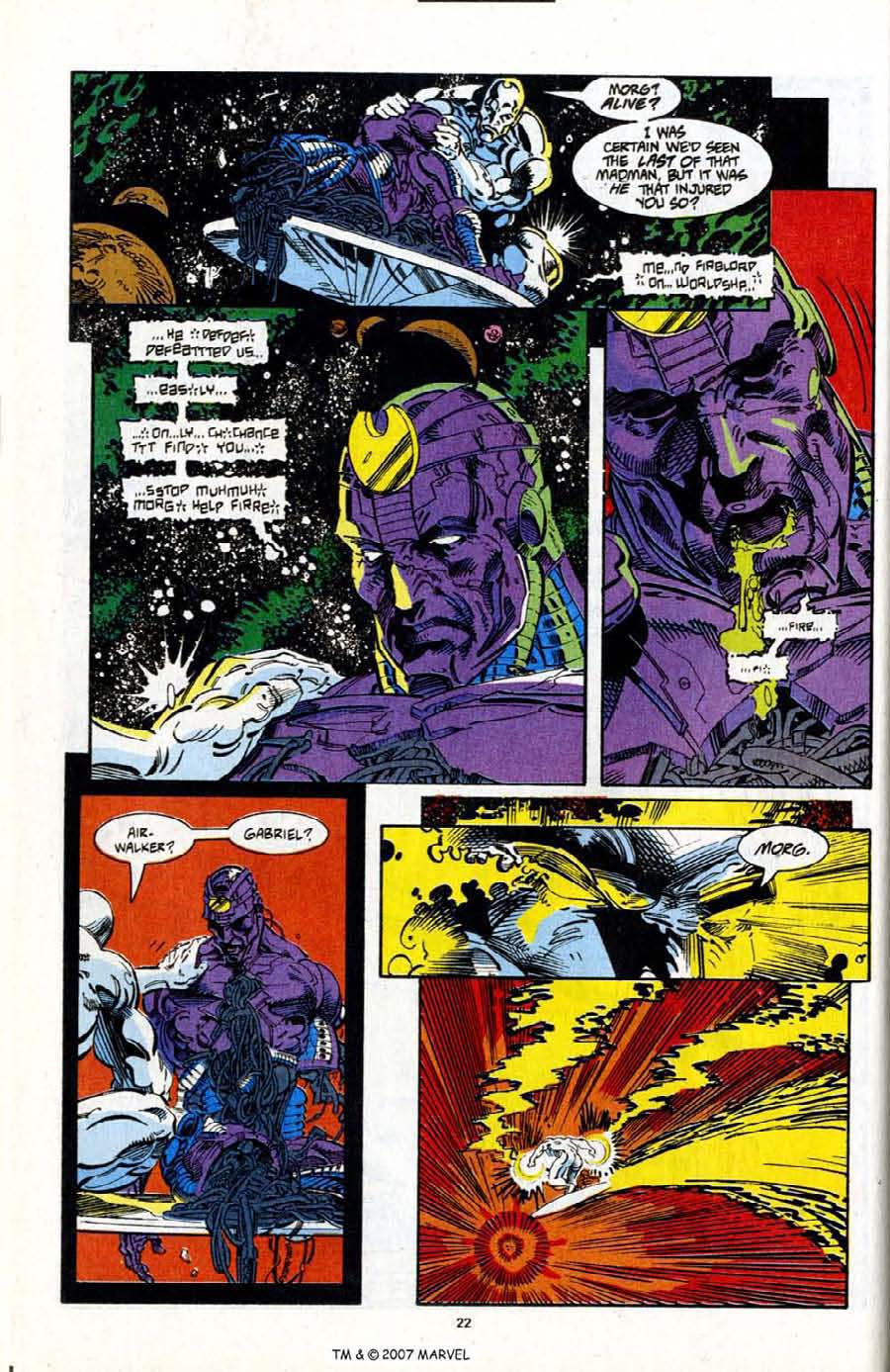 Read online Silver Surfer (1987) comic -  Issue # _Annual 7 - 24