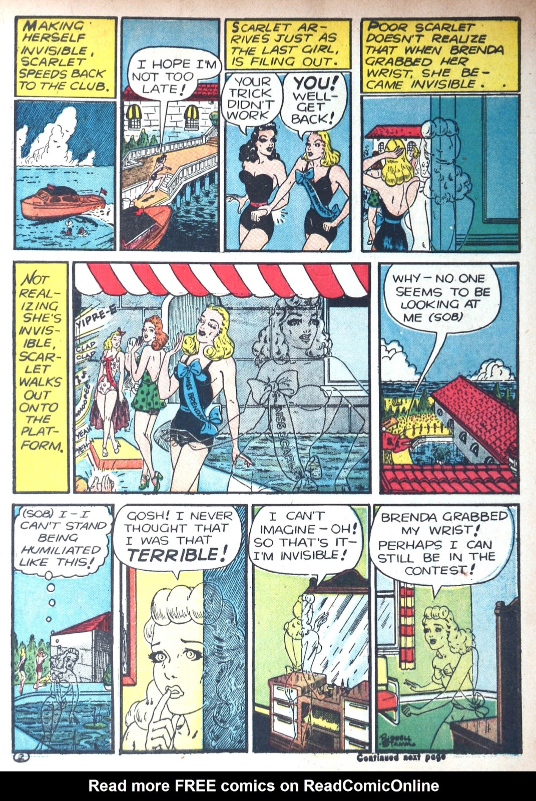 Read online Famous Funnies comic -  Issue #85 - 7