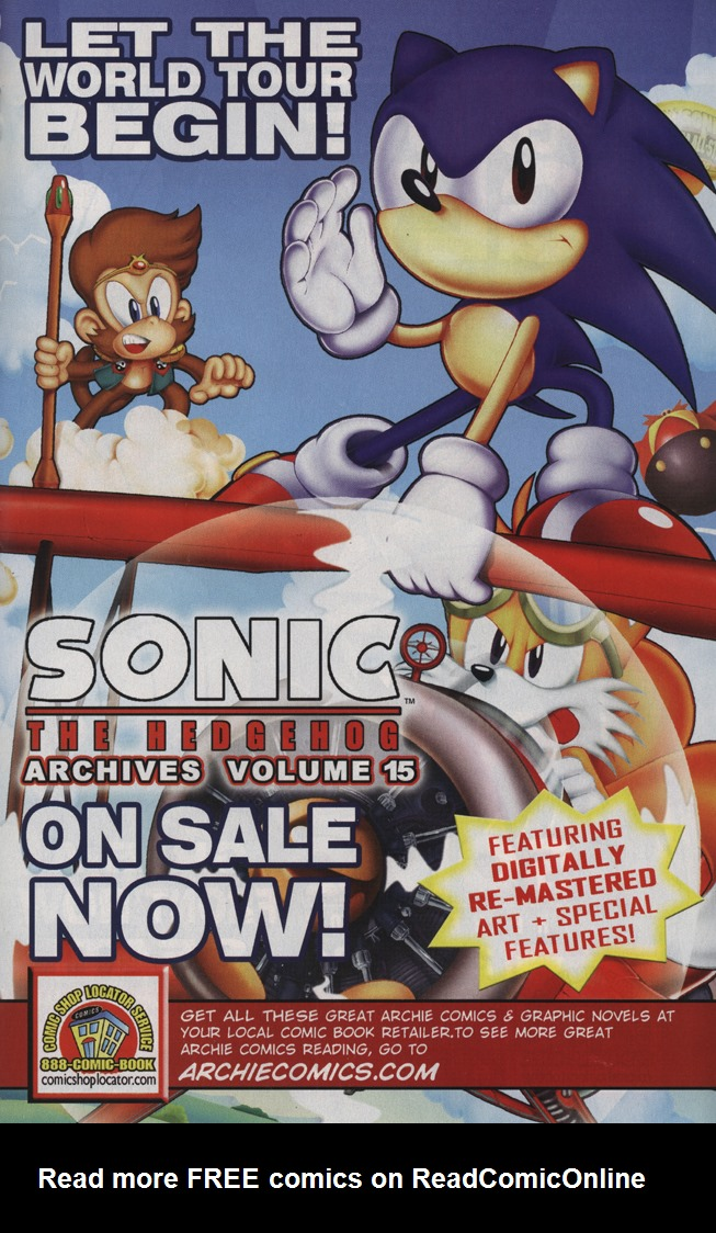Read online Sonic the Hedgehog Free Comic Book Day Edition comic -  Issue # Special 5 - 19
